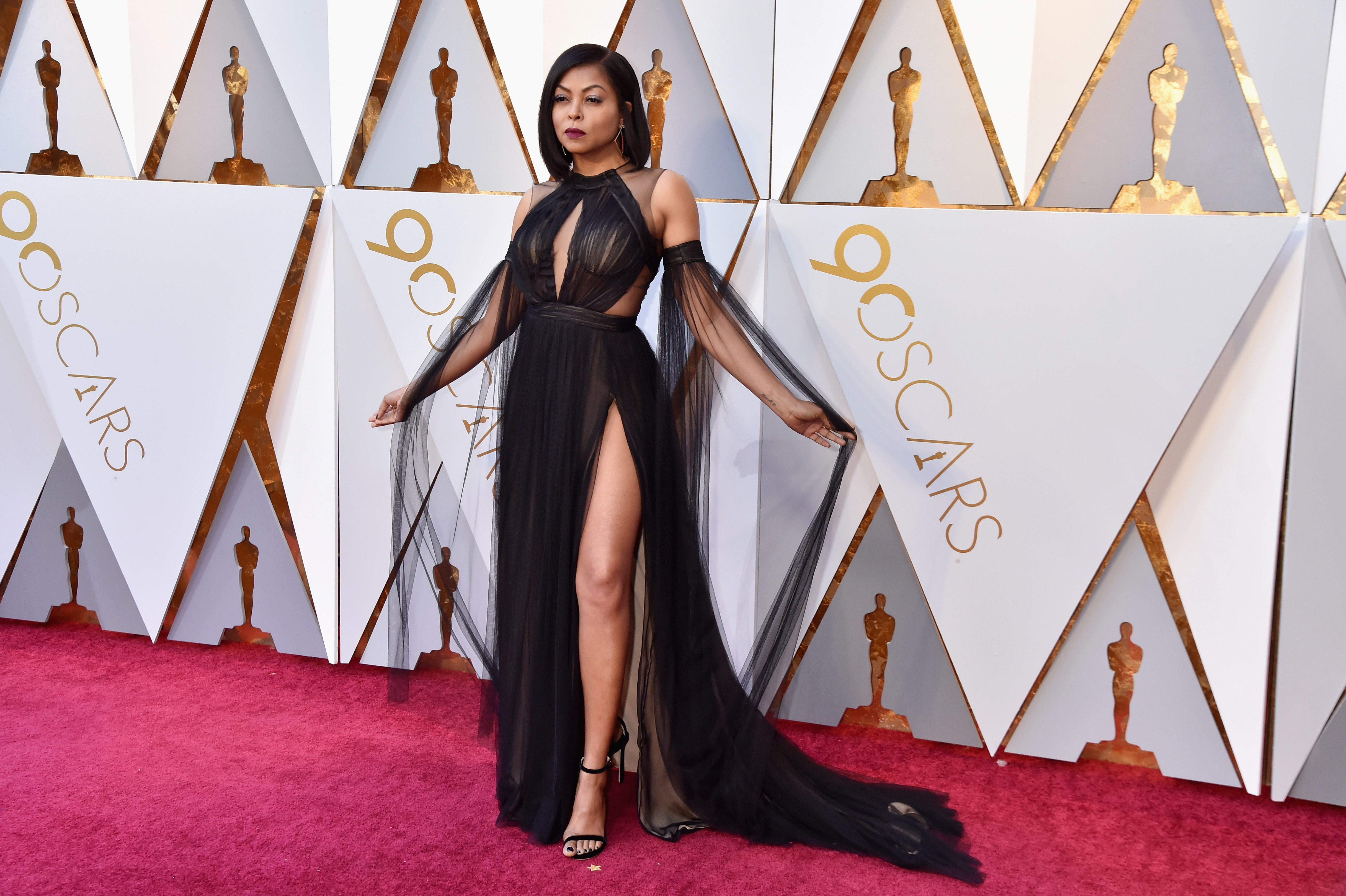 Taraji P. Henson attends the 90th Annual Academy Awards at Hollywood & Highland Center on March 4.