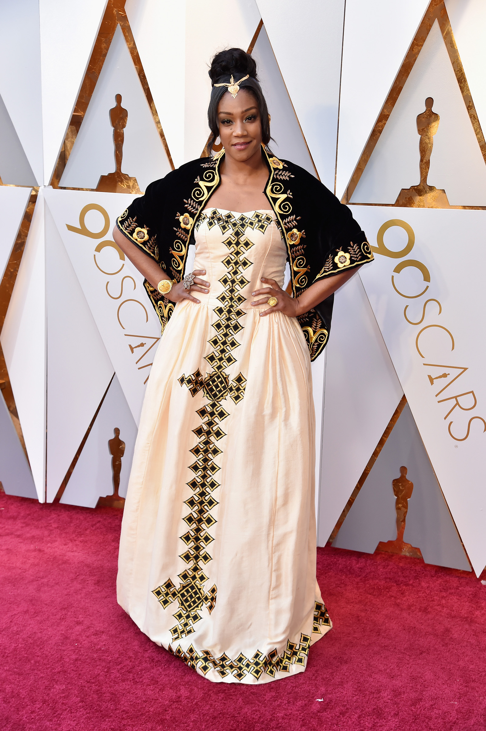 90th Academy Awards Tiffany Haddish Red Carpet Outfit