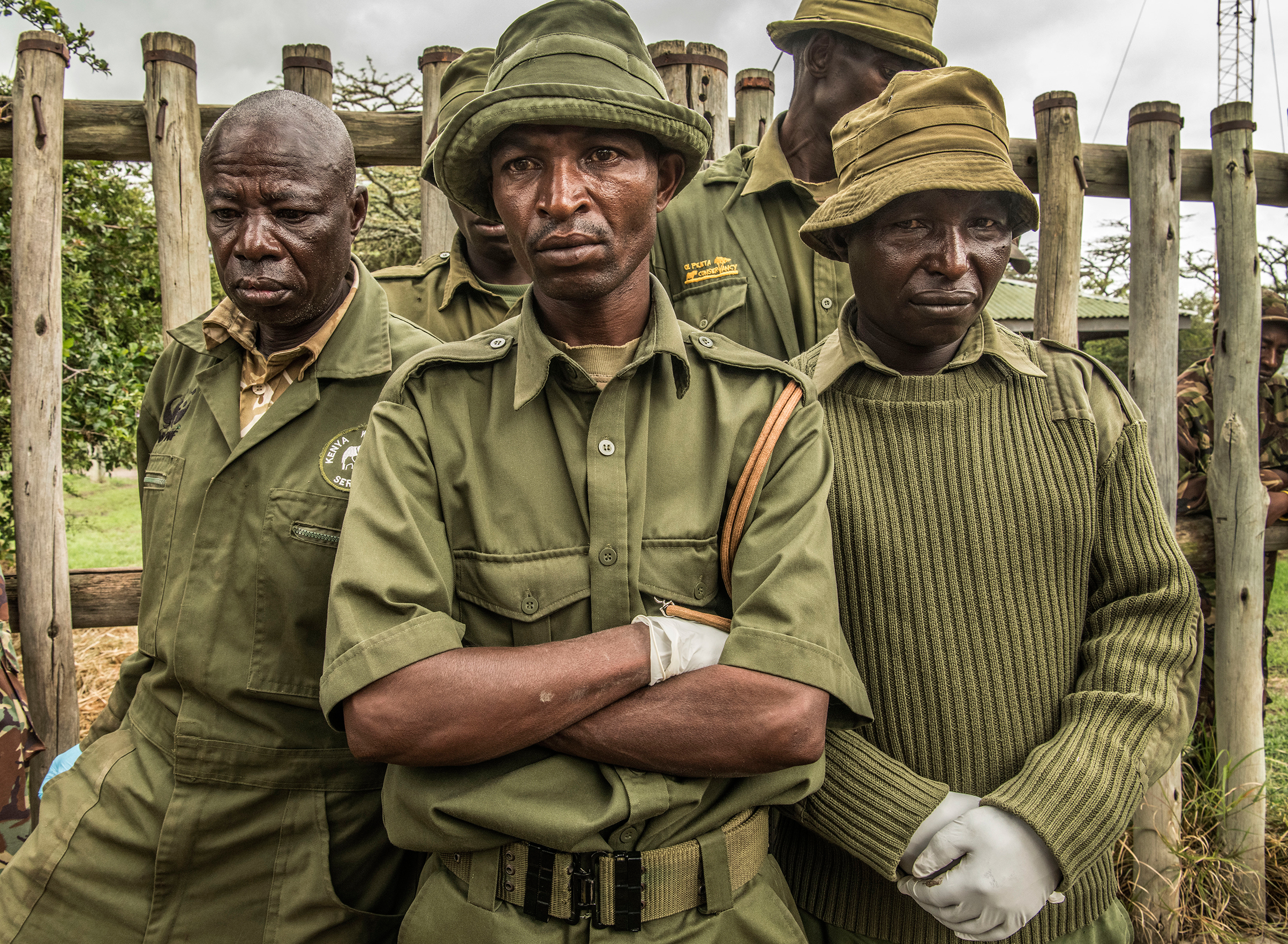 Wildlife rangers mourn the passing of Sudan, the last male Northern White Rhino on the planet.
