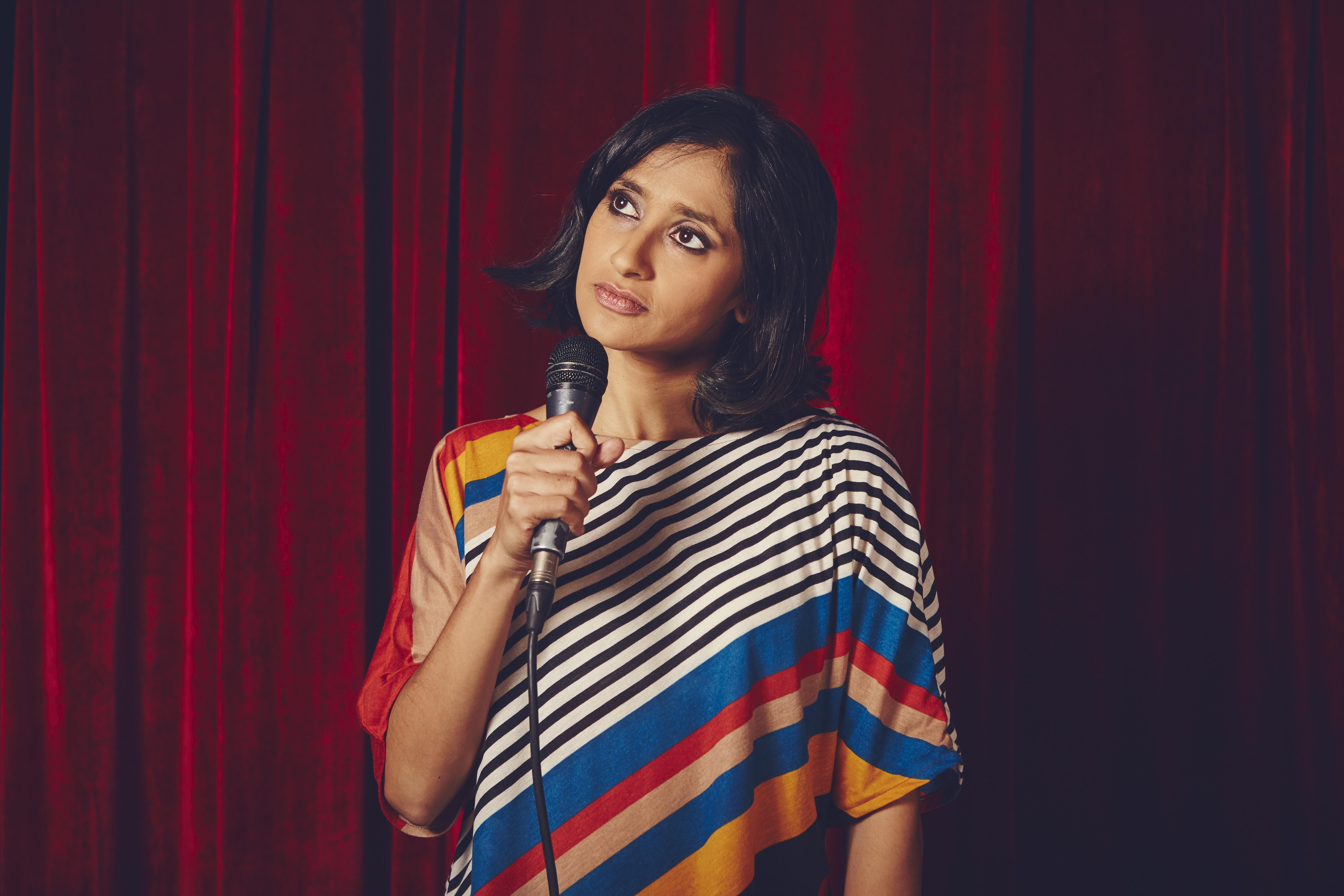Comedian Aparna Nancherla.