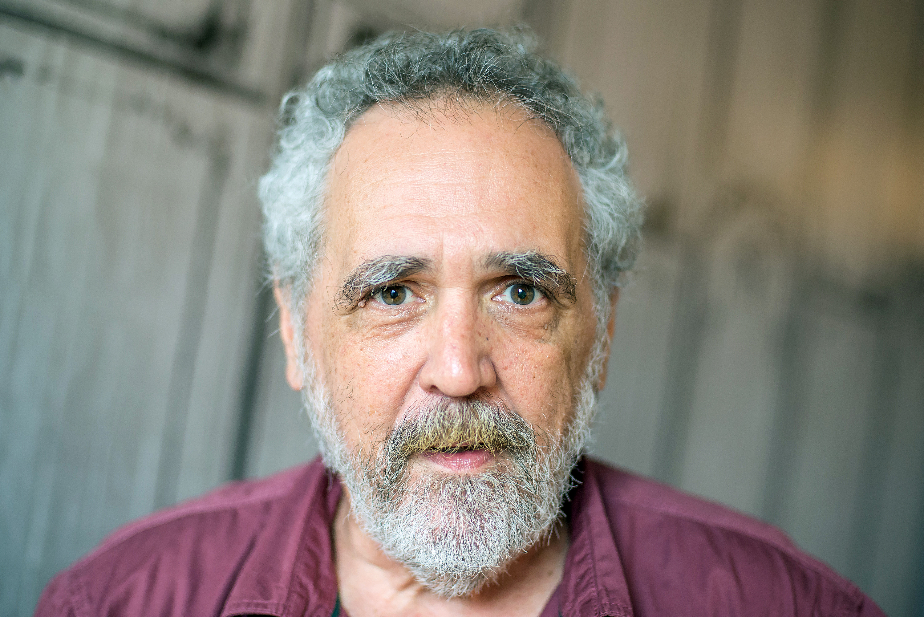 Political satirist Barry Crimmins attends AOL Build Presents:  Call Me Lucky  at AOL Studios In New York on July 30, 2015 in New York City.