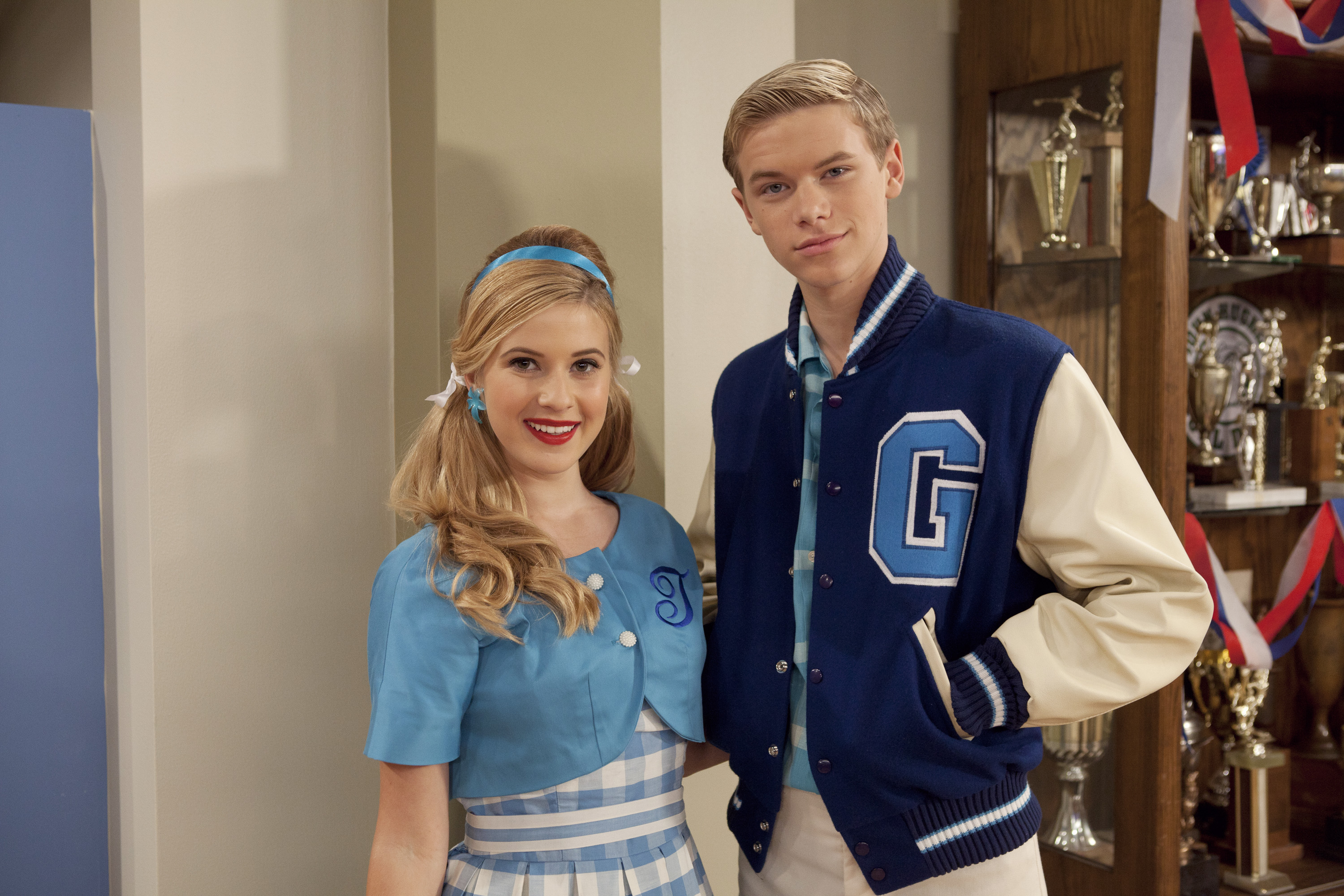 Caroline Sunshine and Kenton Duty on Disney's  Shake It Up