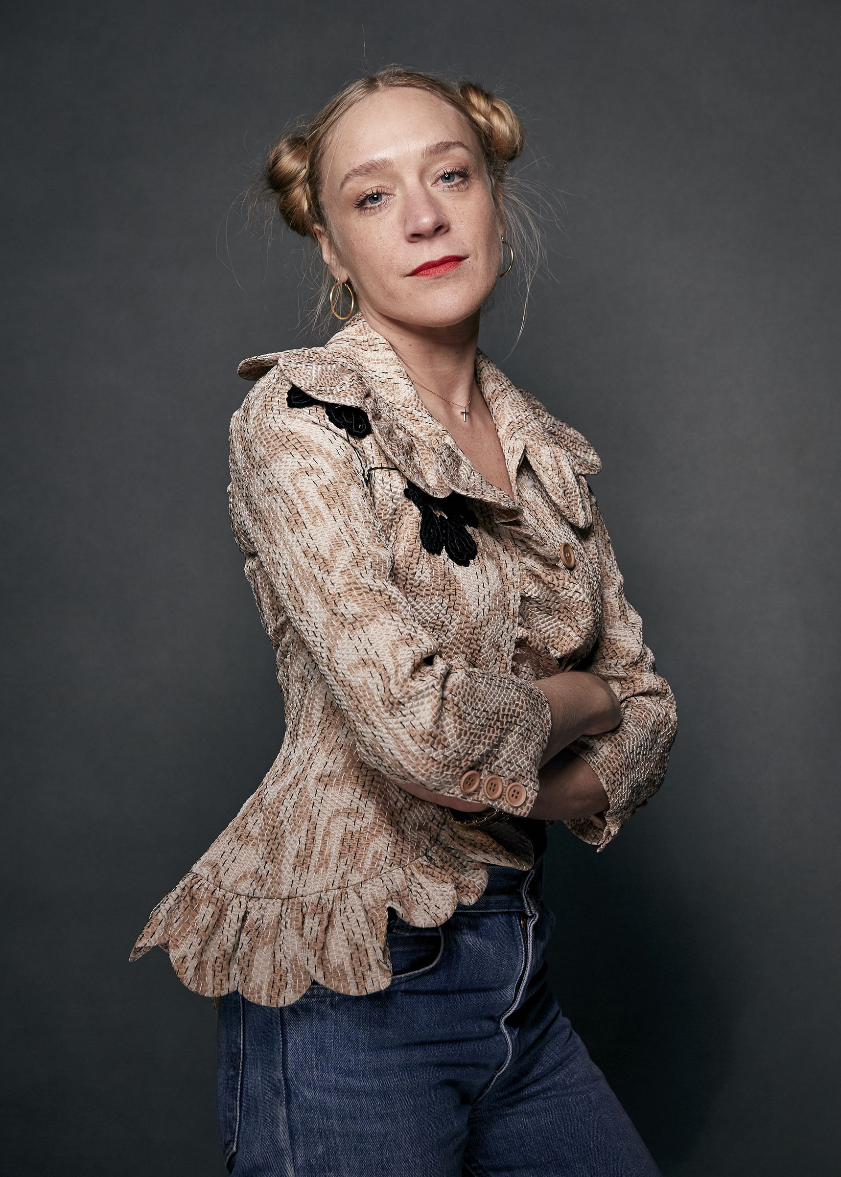 Chloe Sevigny poses for a portrait during the Sundance Film Festival, in Park City, Utah on Jan 19, 2018.