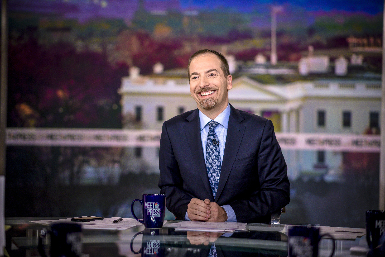 Moderator Chuck Todd appears on  Meet the Press  in Washington, D.C., Sunday, Feb. 18, 2018.