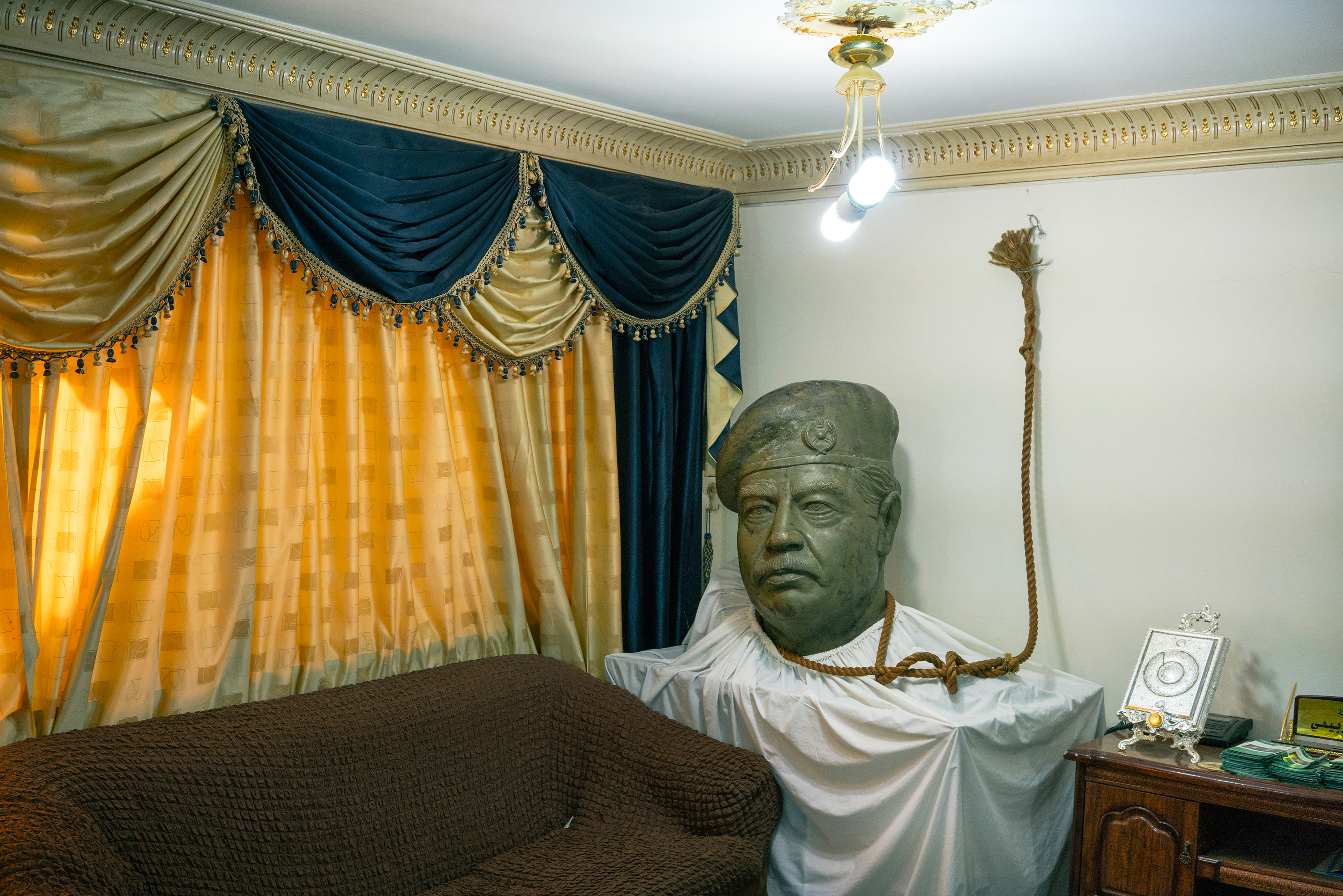 The rope used to execute former Iraqi President Saddam Hussein is in the Baghdad home of Mowaffak al-Rubaie, who witnessed the hanging.