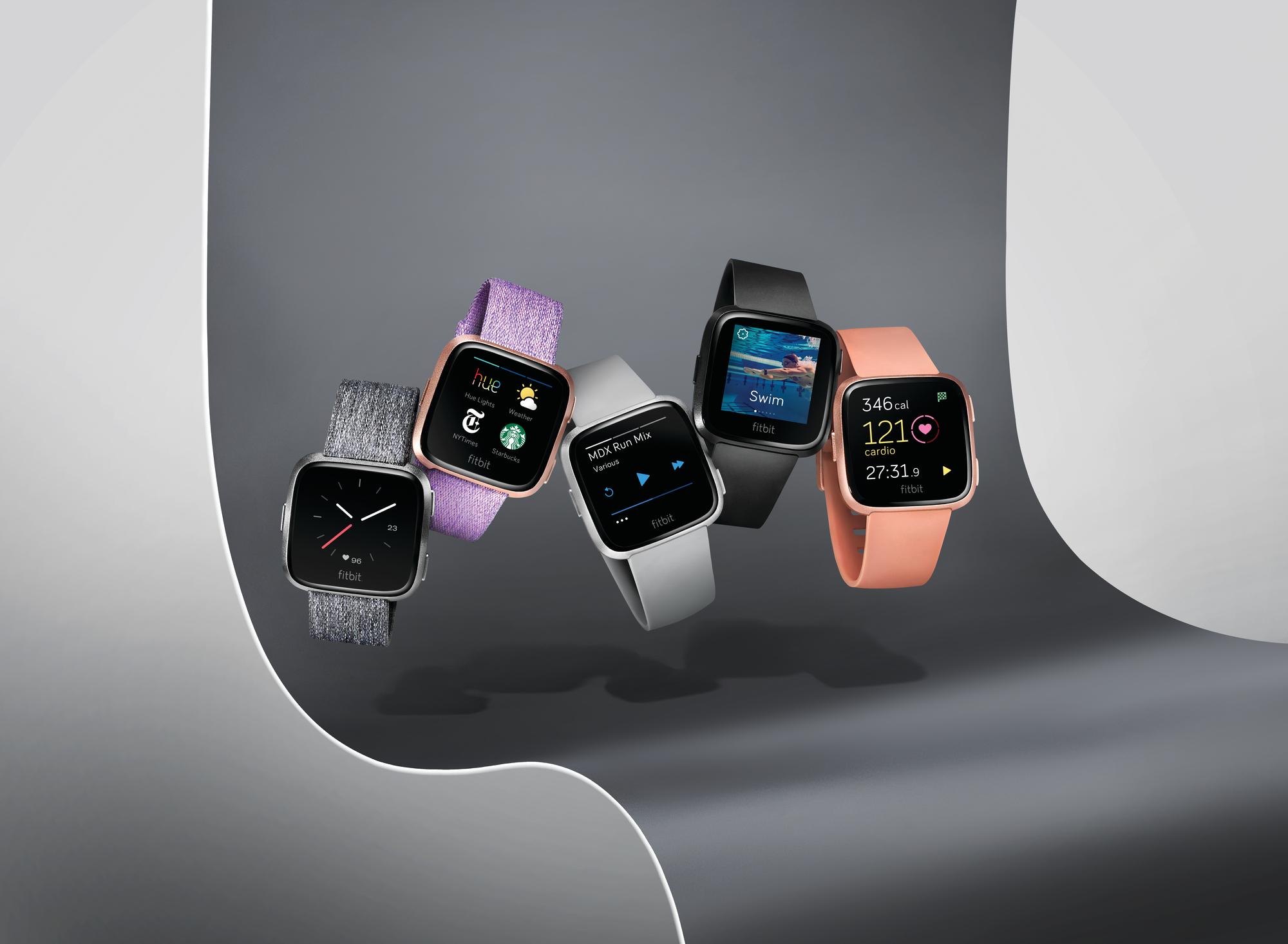 Fitbit's new Versa smartwatch