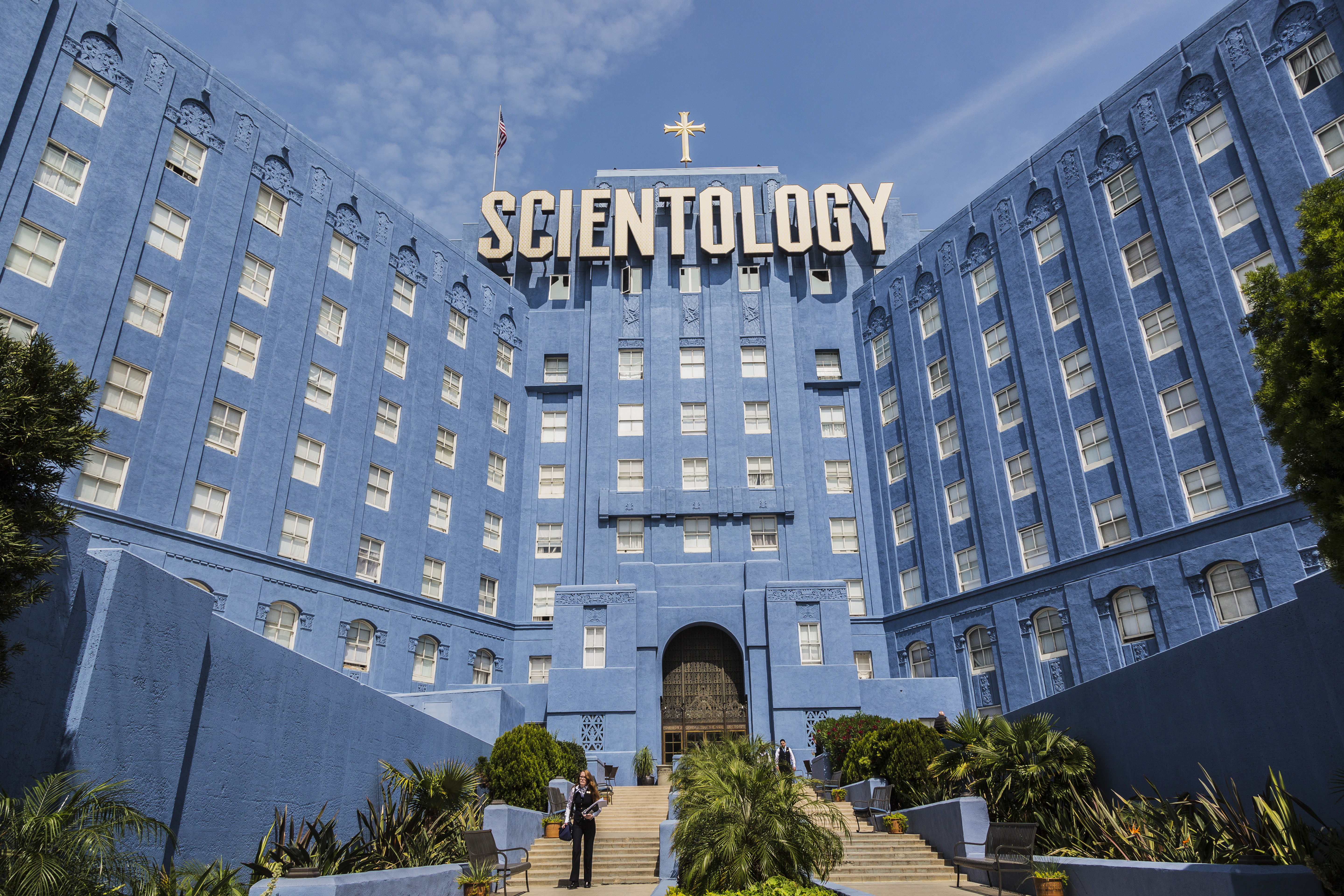 Church of Scientology Building on 4810 Sunset Blvd. in Los Angeles.