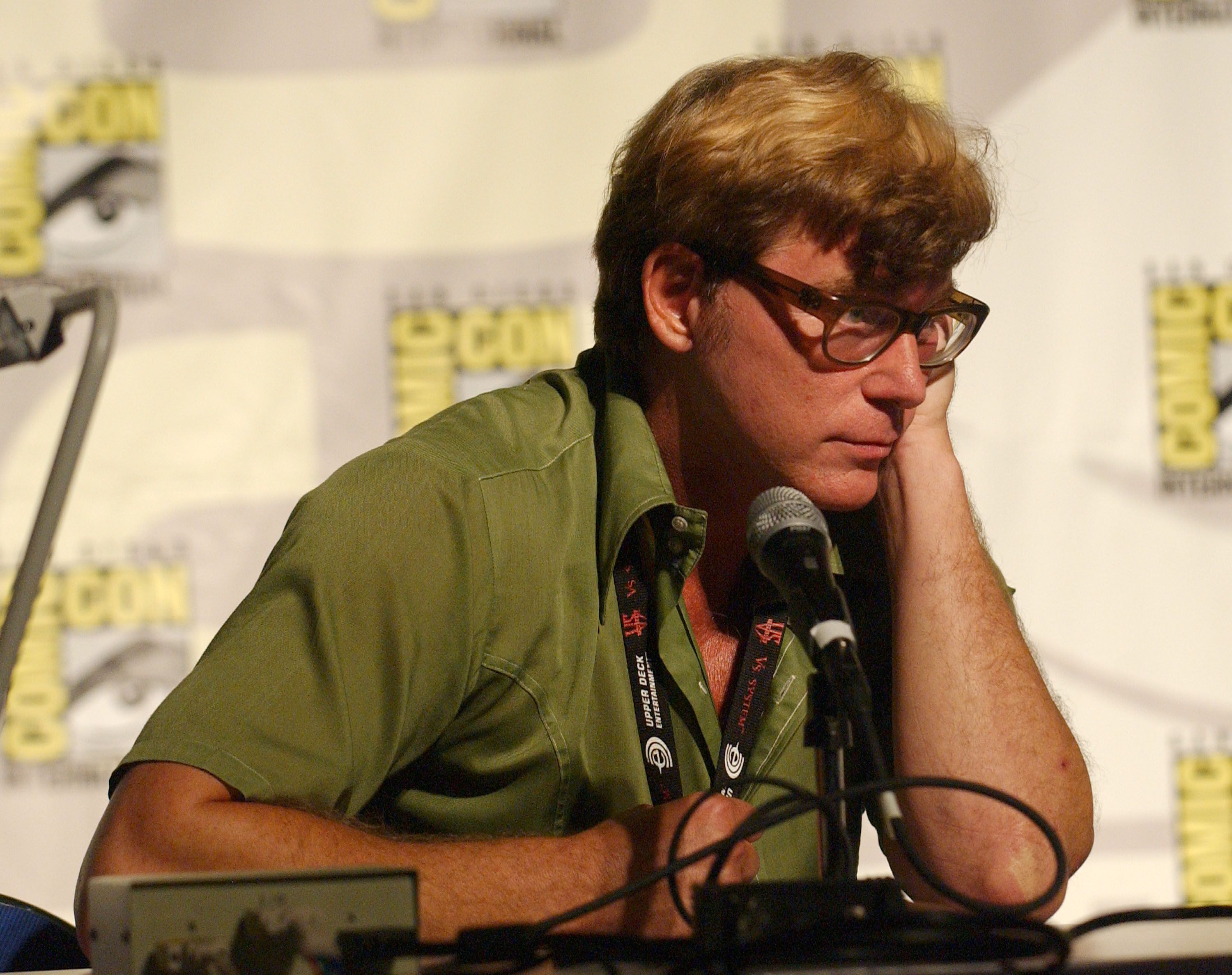 Cartoonist John Kricfalusi is photographed at the San Diego Convention Center in San Diego, CA.