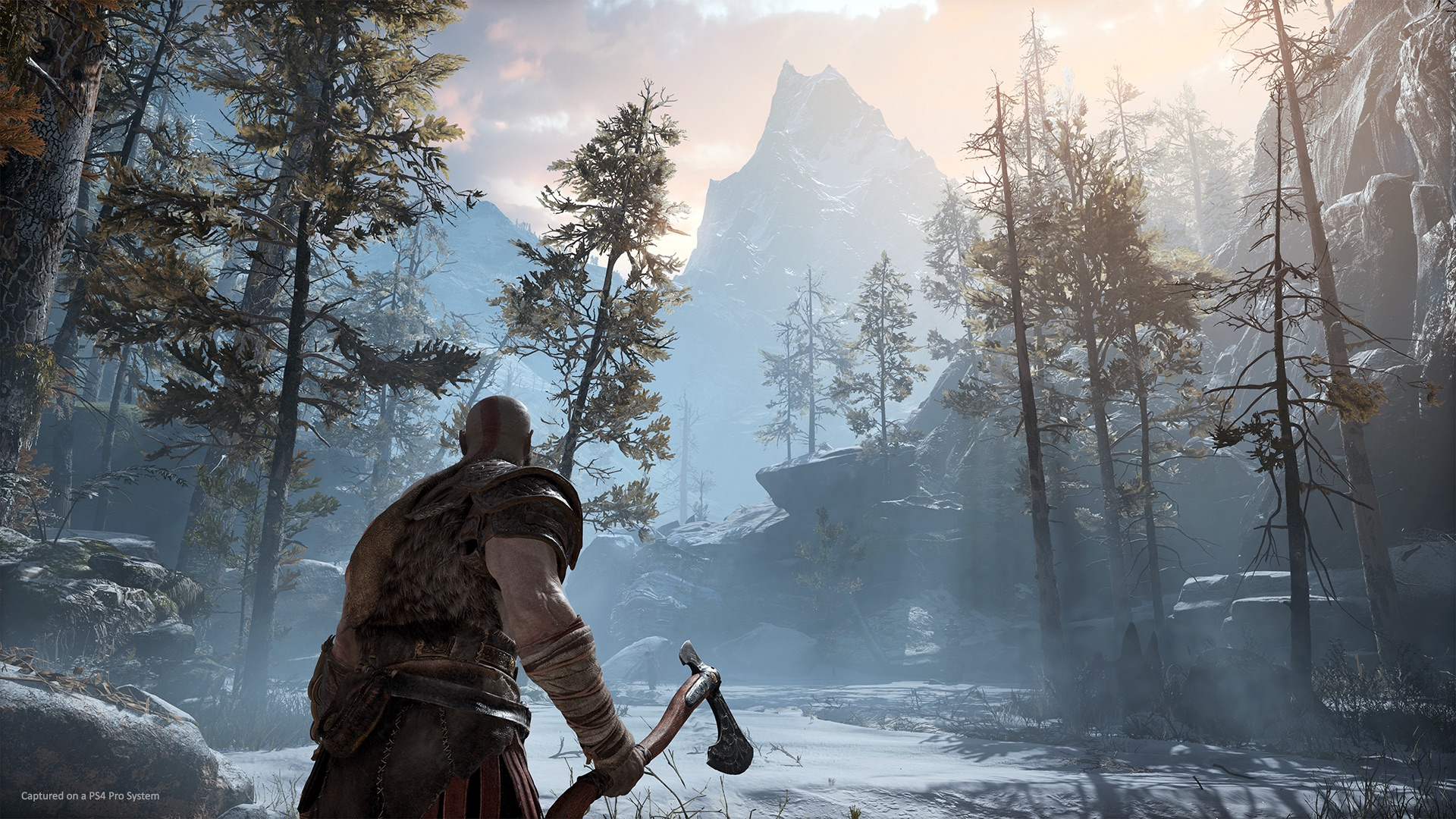 The new God of War game for the PS4