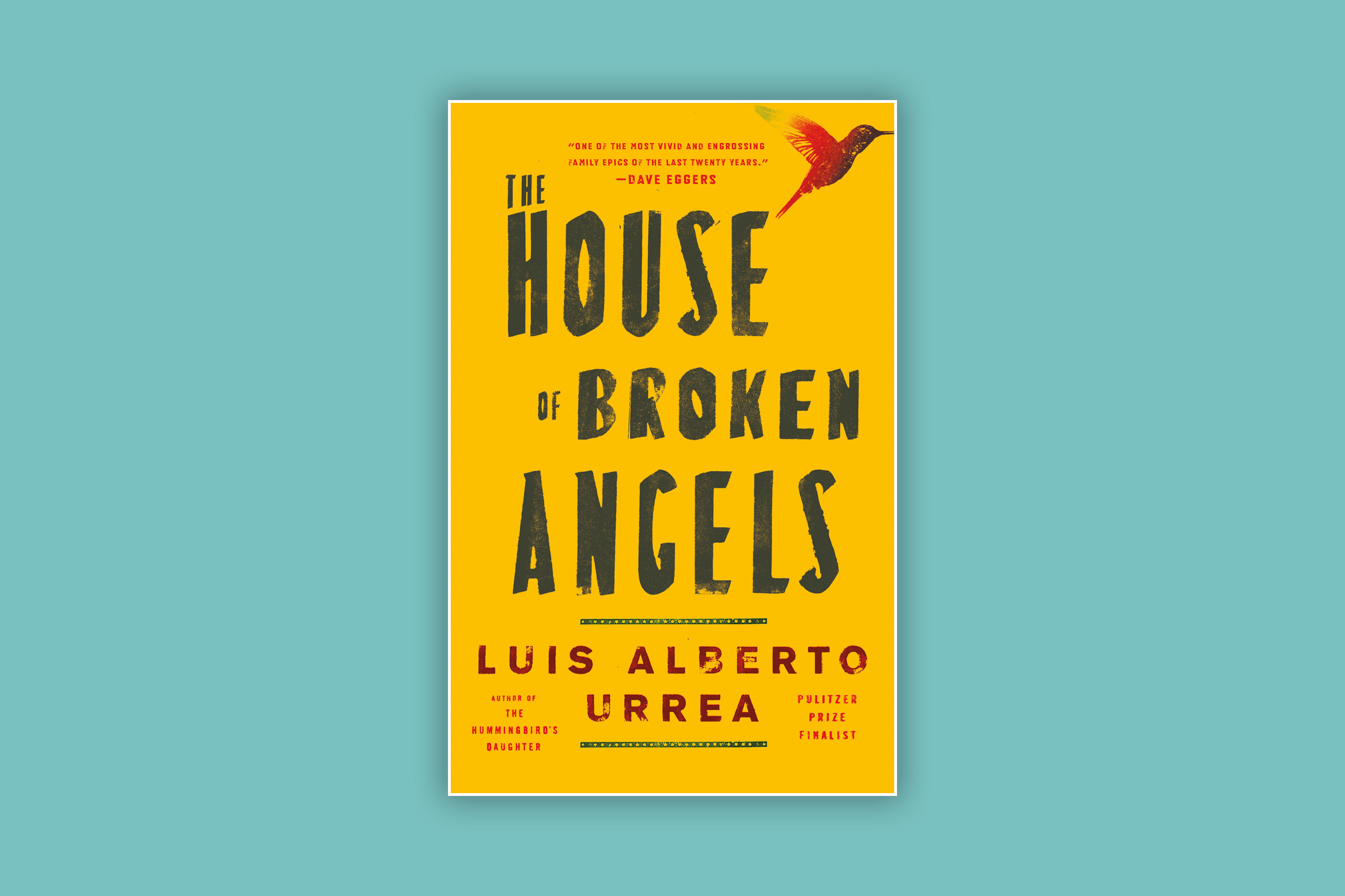 This is Urrea's fifth novel; his nonfiction The Devil's Highway was a Pulitzer finalist in 2005