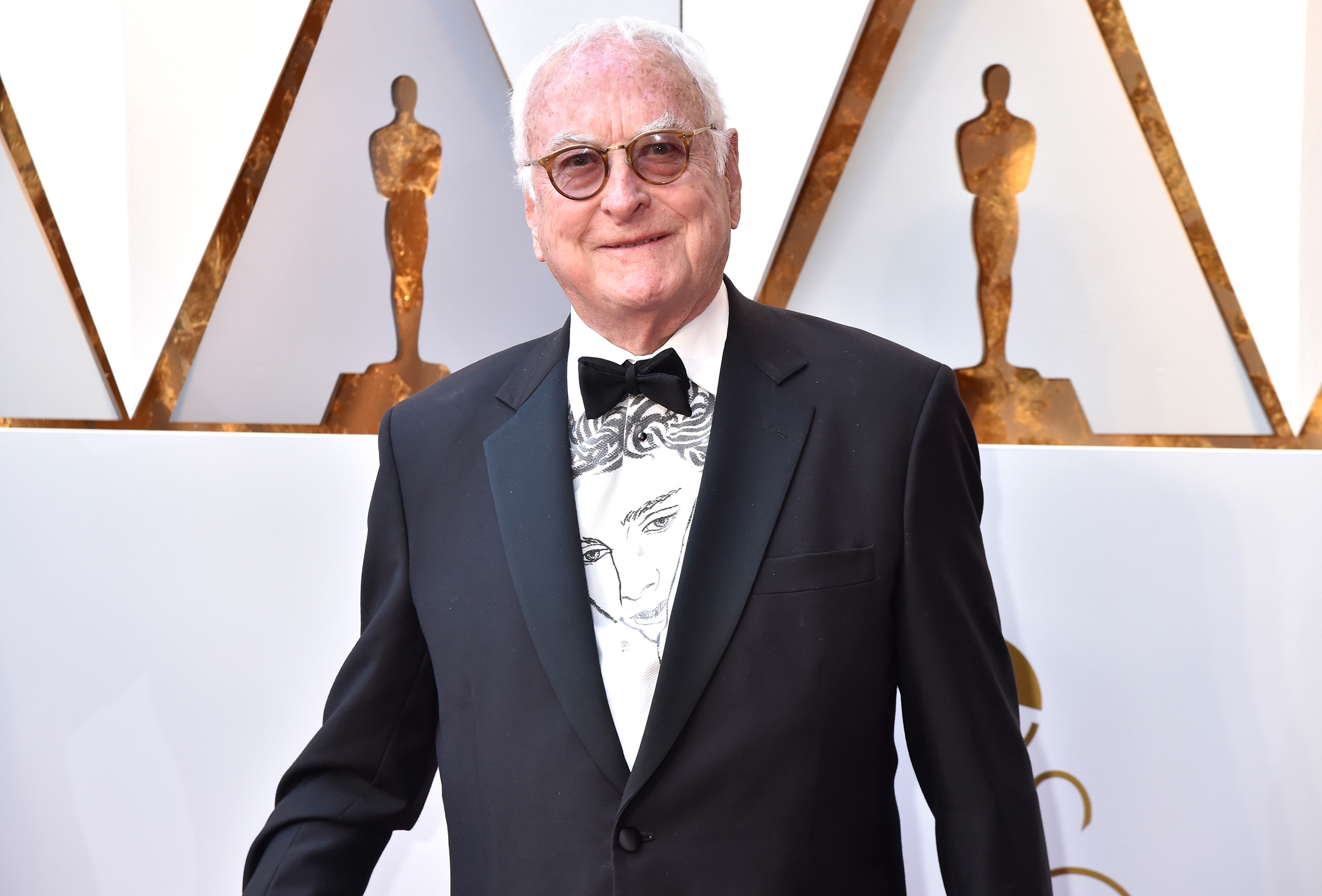 James Ivory attends the 90th Annual Academy Awards at Hollywood & Highland Center on March 4, 2018.