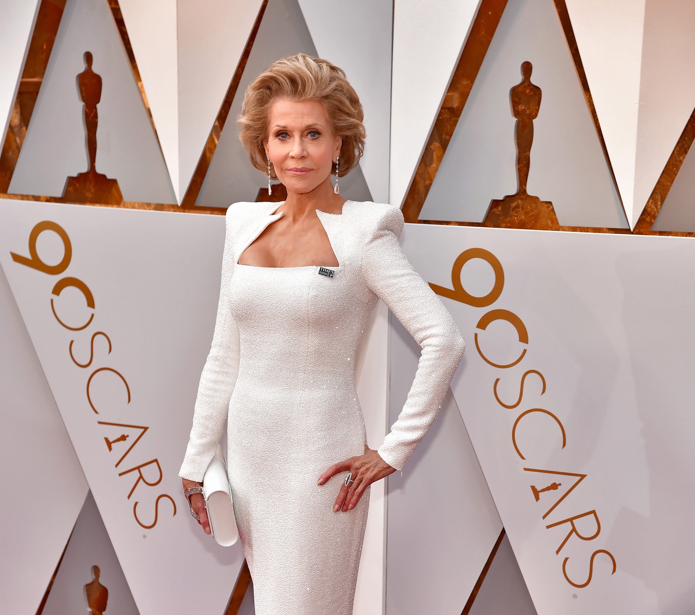 Jane Fonda attends the 90th Annual Academy Awards at Hollywood & Highland Center on March 4.
