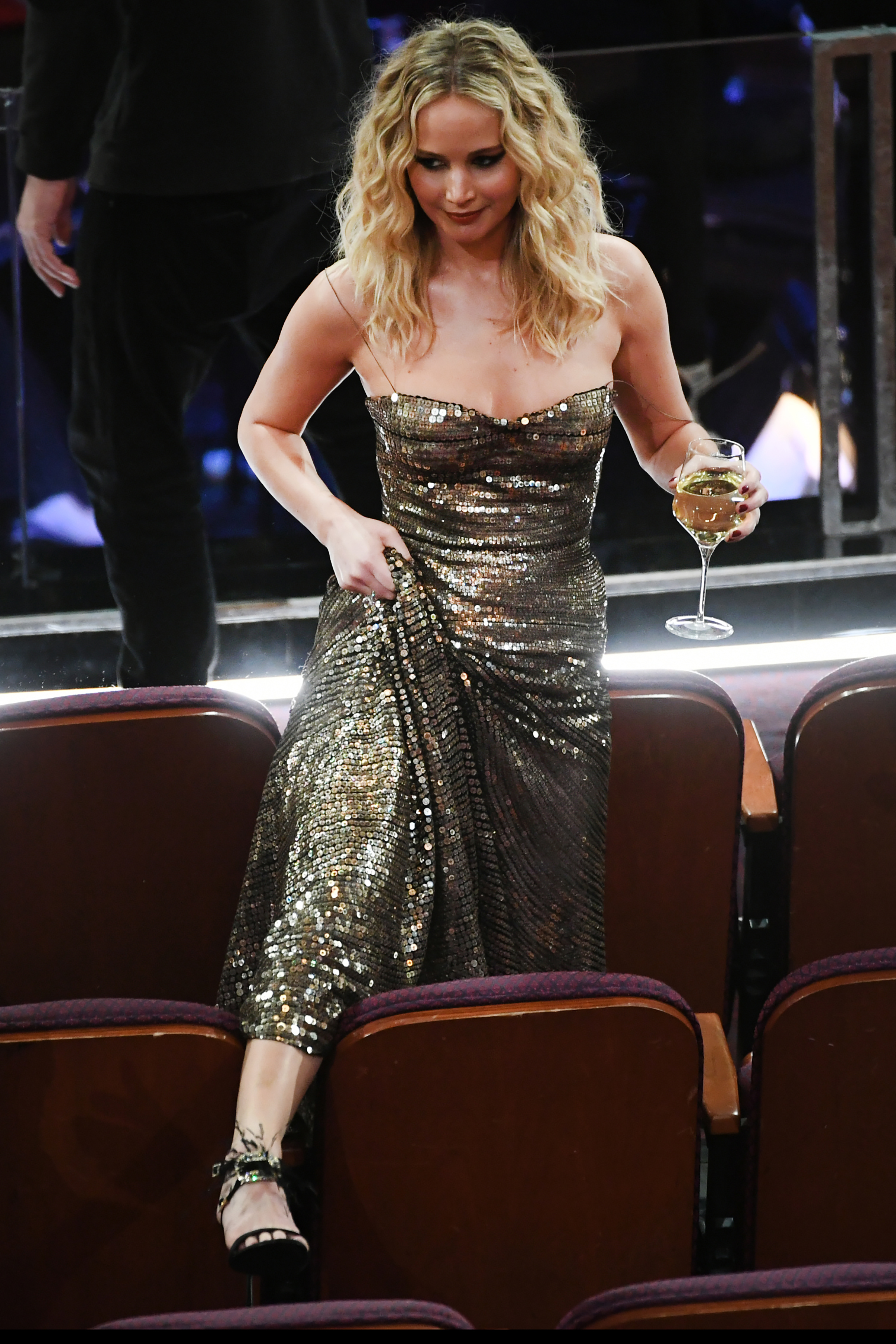 Actor Jennifer Lawrence attends the 90th Annual Academy Awards at the Dolby Theatre at Hollywood & Highland Center on March 4, 2018 in Hollywood.
