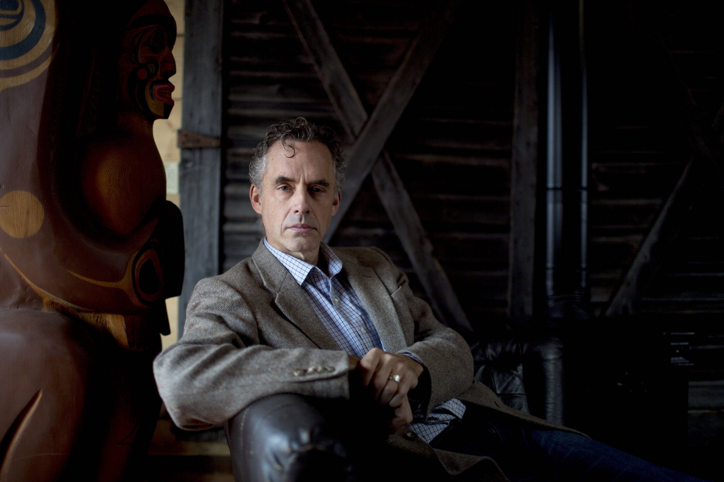Dr. Jordan Peterson in Toronto, Ontario, Canada on Dec. 6, 2016.