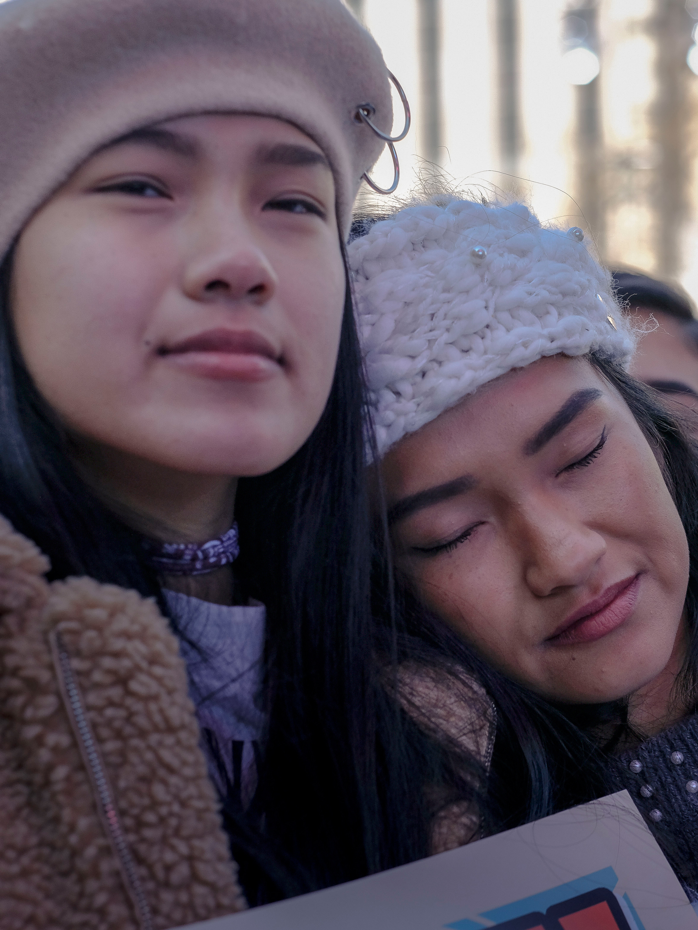 Sisters Chloe Trieu, 15, left, and Victoria Trieu, 19, both attended Marjory Stoneman Douglas High School.