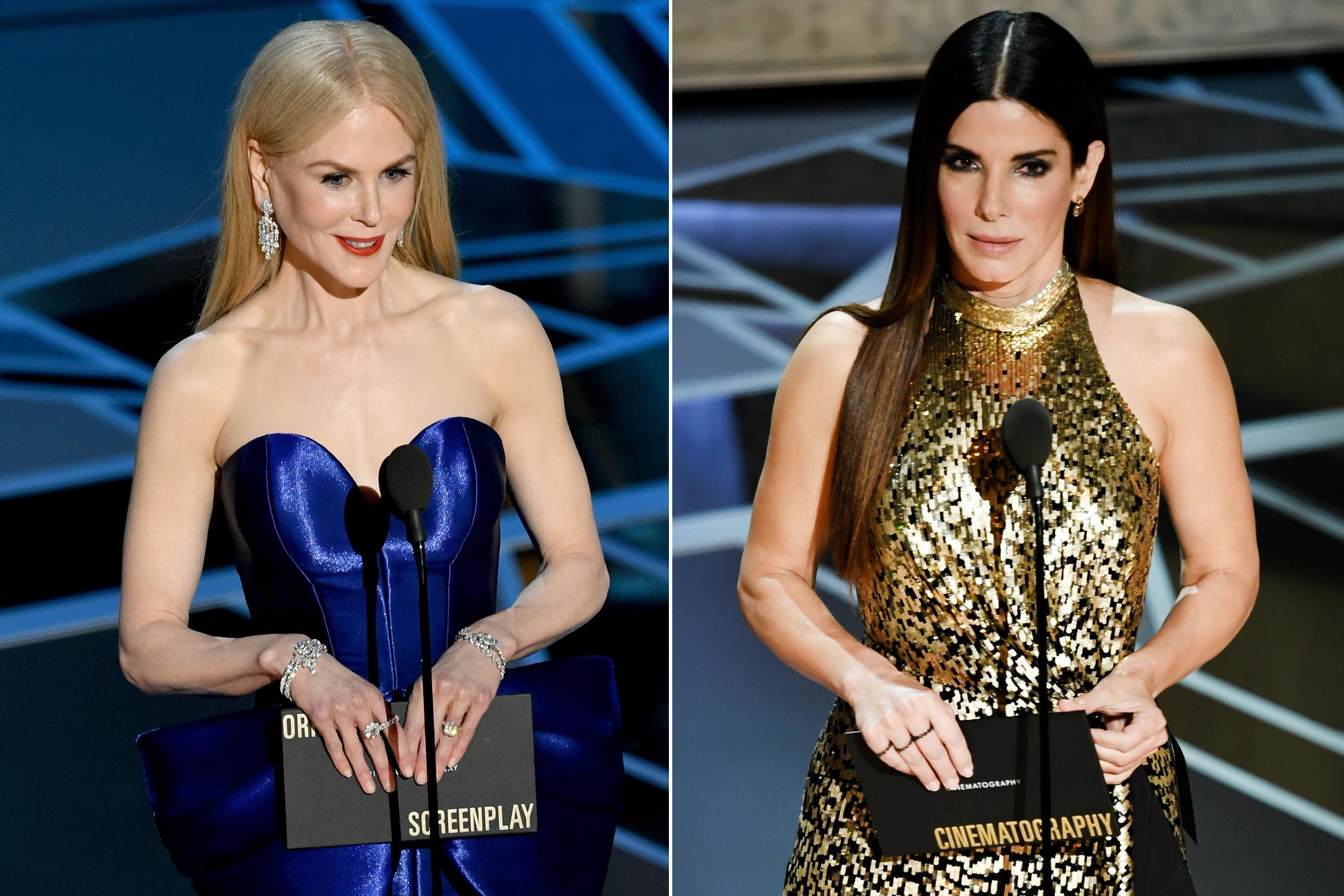 Nicole Kidman And Sandra Bullock Have Practical Magic Reunion Time