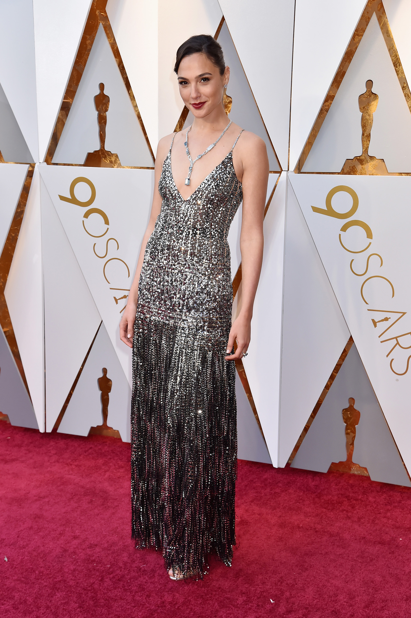 Gal Gadot attends the 90th Annual Academy Awards at Hollywood & Highland Center on March 4, 2018 in Hollywood.