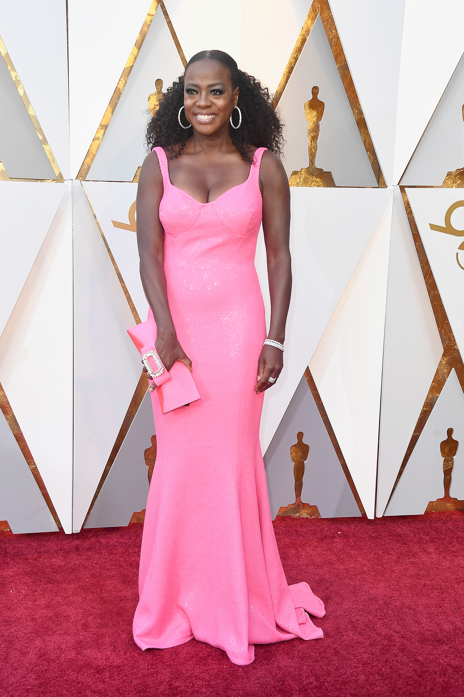 Viola Davis attends the 90th Annual Academy Awards at Hollywood & Highland Center on March 4.
