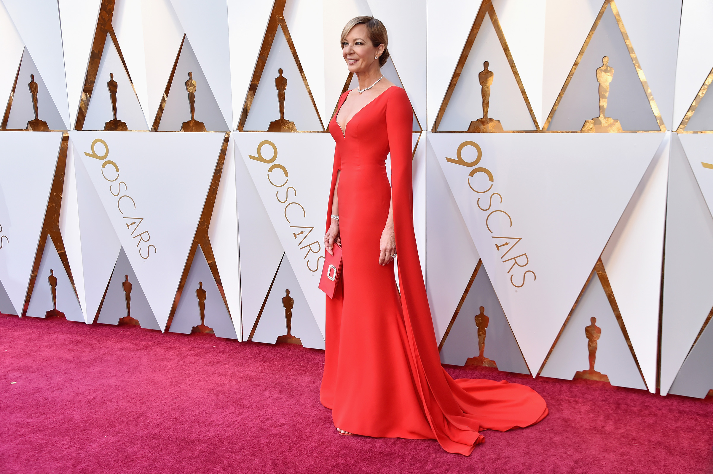 Allison Janney attends the 90th Annual Academy Awards in Hollywood, on March 4, 2018.