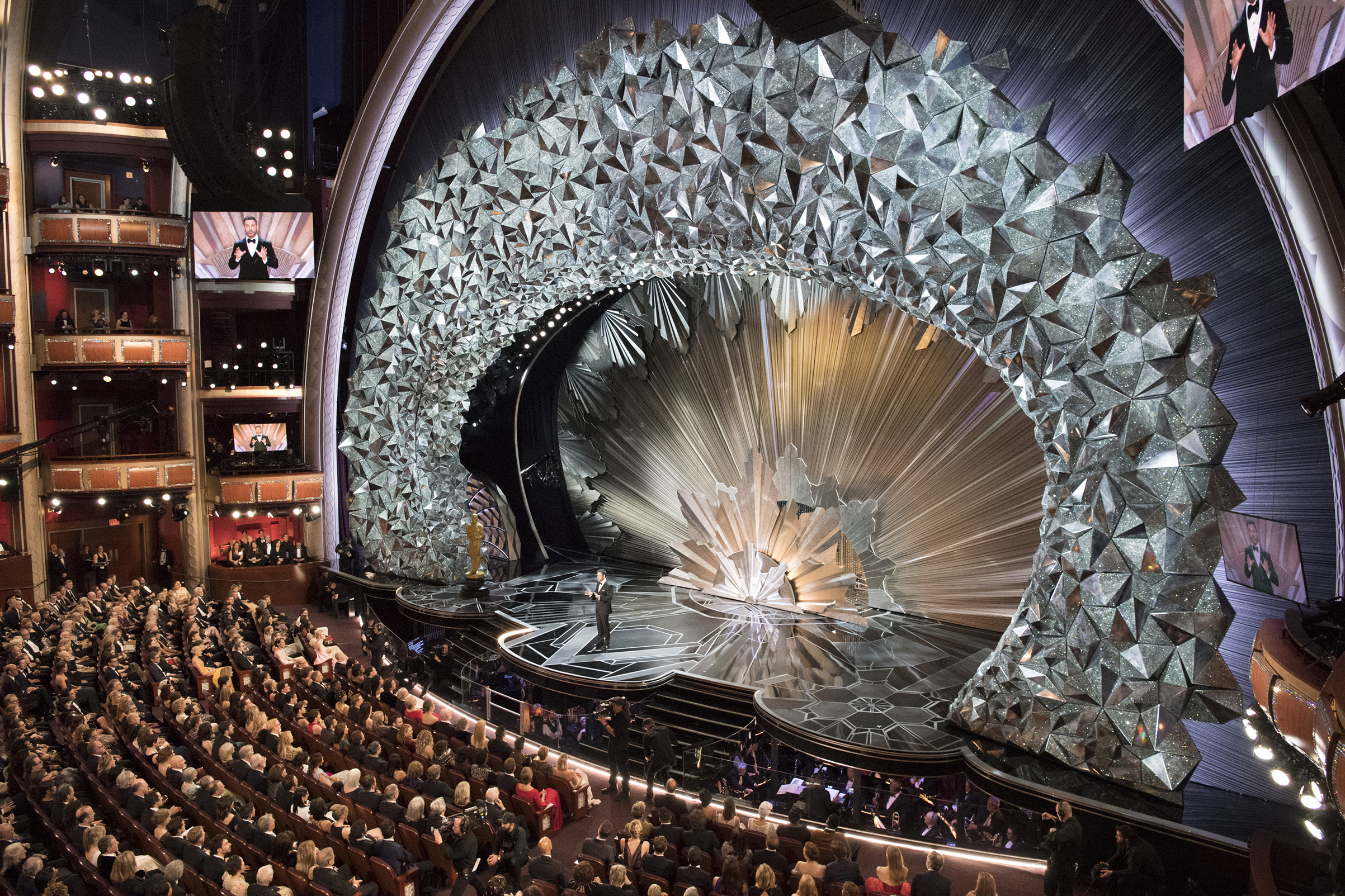 The 90th Oscars broadcasts live at the Dolby Theatre at Hollywood & Highland Center on March 4, 2018.