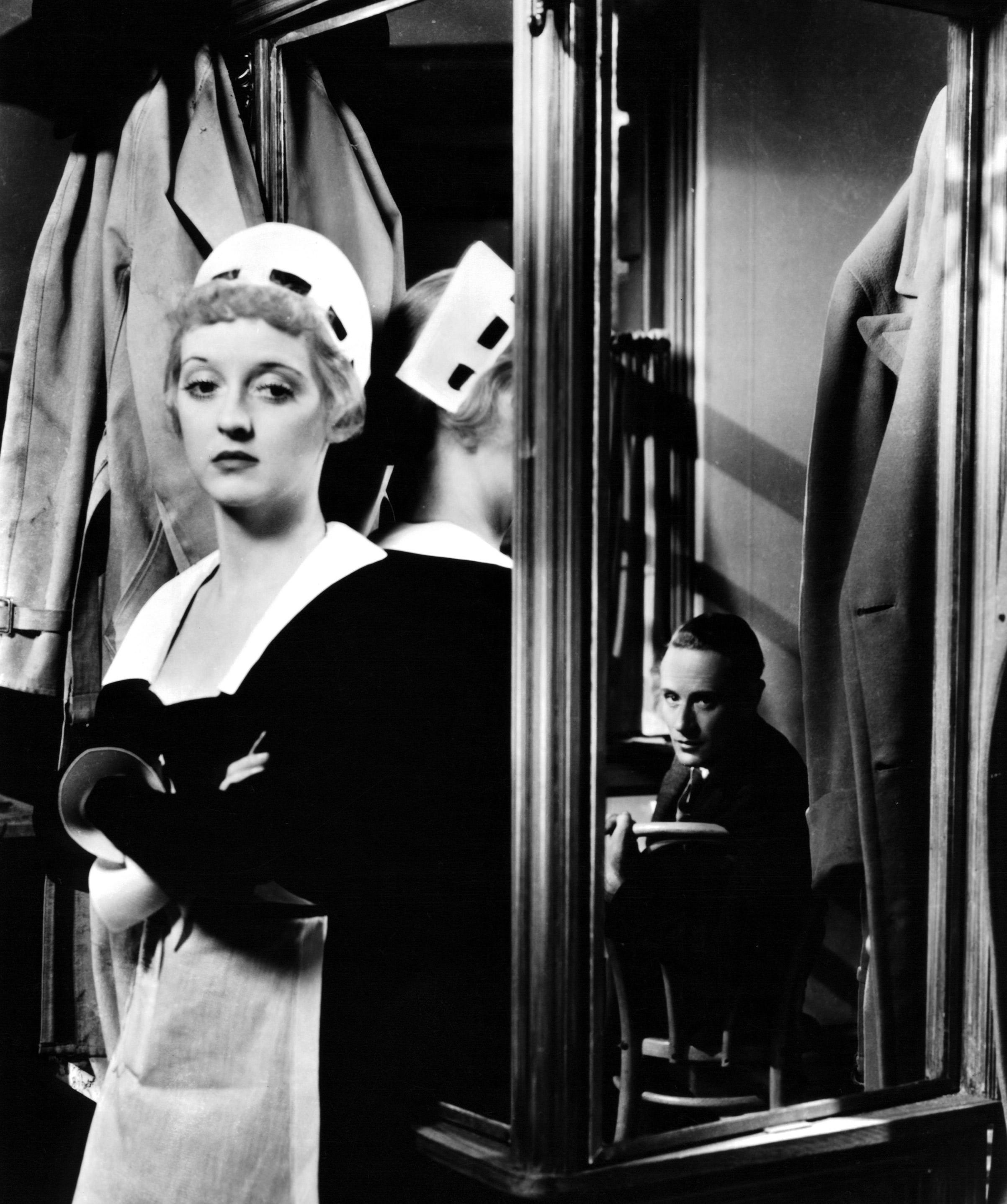 Bette Davis in a scene from the film Of Human Bondage, 1934.
