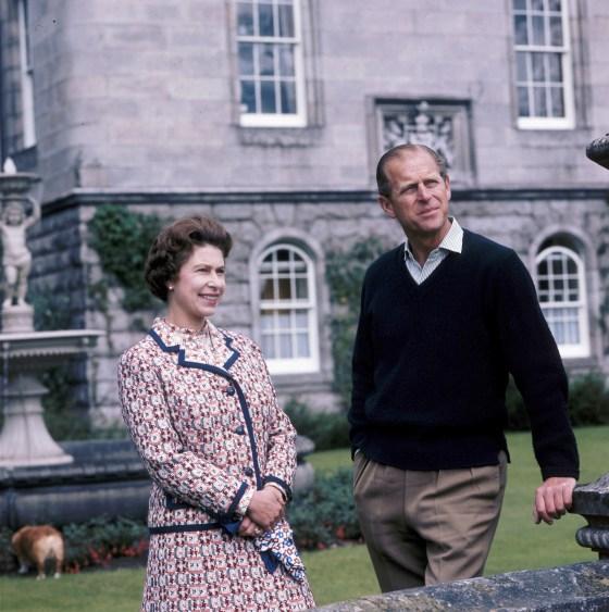 Royal Couple At Balmoral