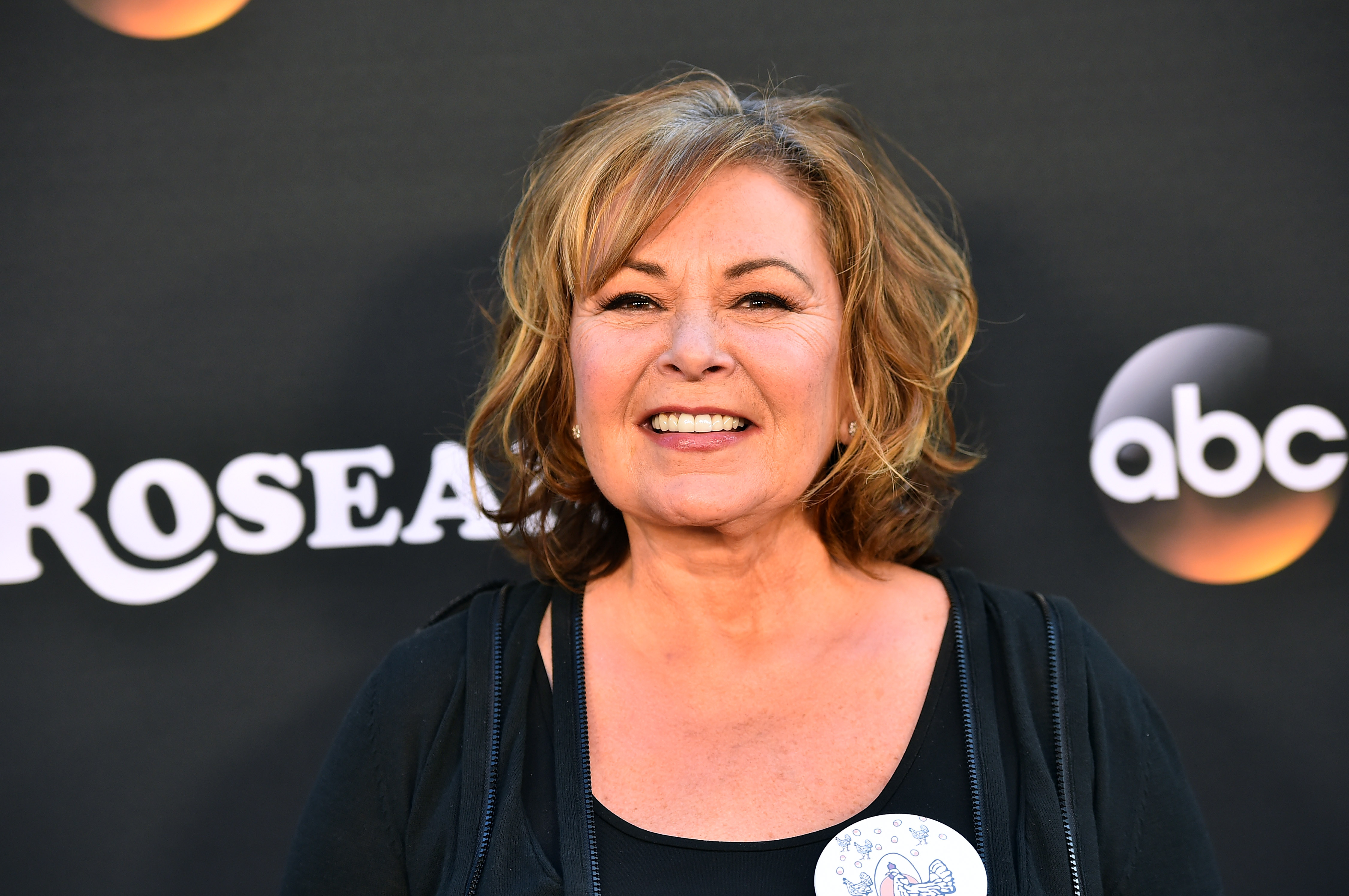 Roseanne Barr attends the premiere of ABC's  Roseanne  at Walt Disney Studio Lot  in Burbank, Calif. on March 23, 2018.
