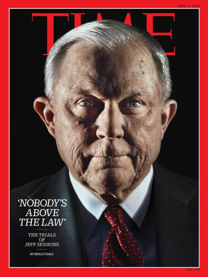 Jeff Sessions Time Magazine Cover