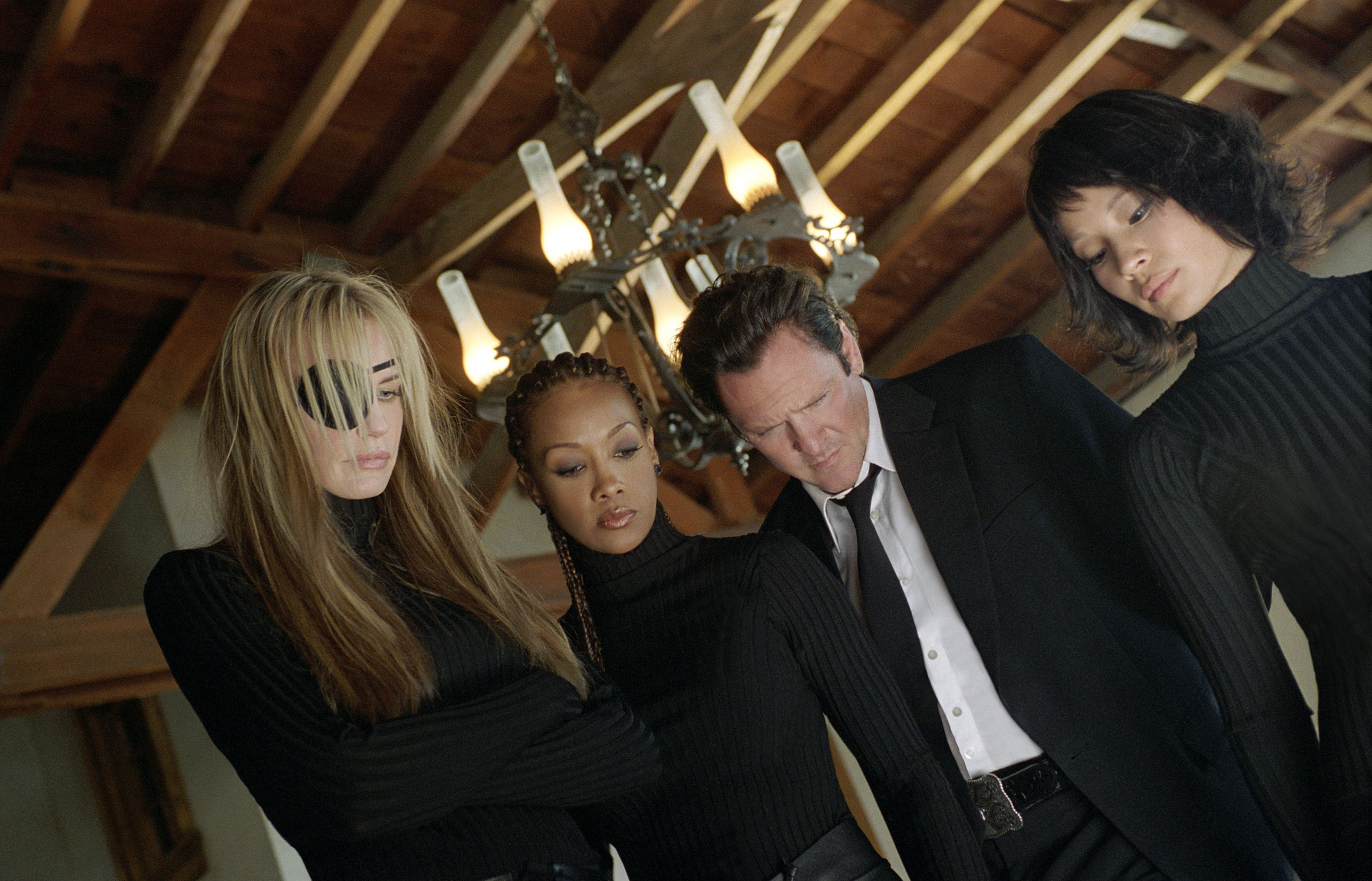 Daryl Hannah, Vivica A. Fox, Michael Madsen, Lucy Liu in 'Kill Bill: Volume 1'