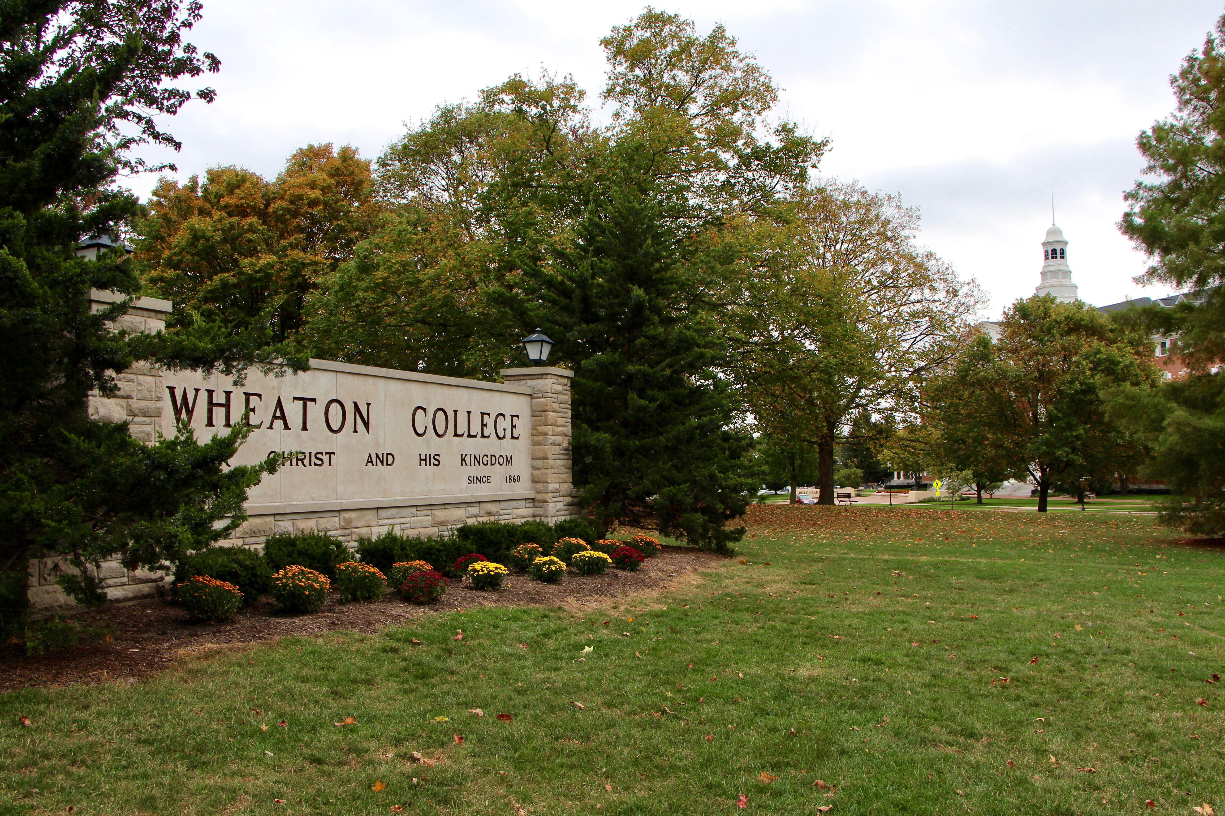 Wheaton College in suburban Chicago on Oct. 11, 2017.
