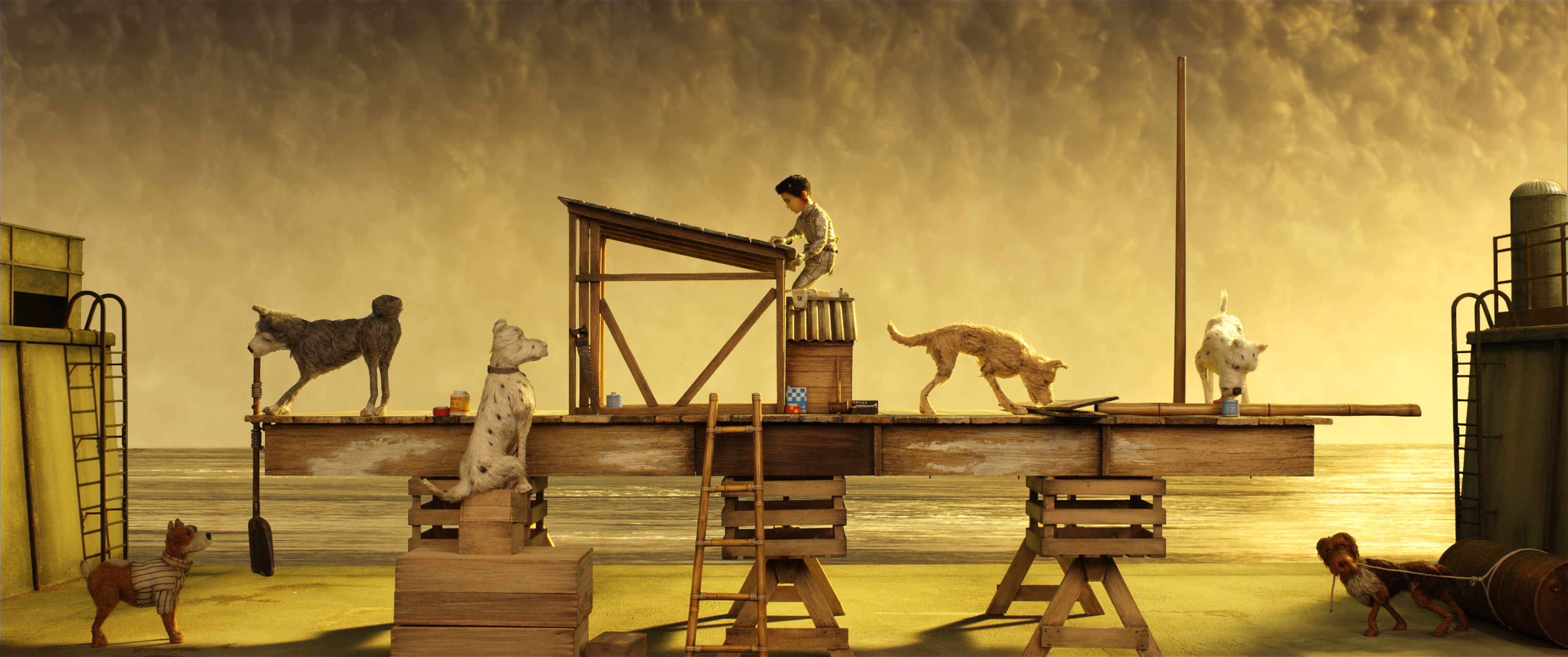 Wes Anderson S Isle Of Dogs Interview With The Visual Team Time