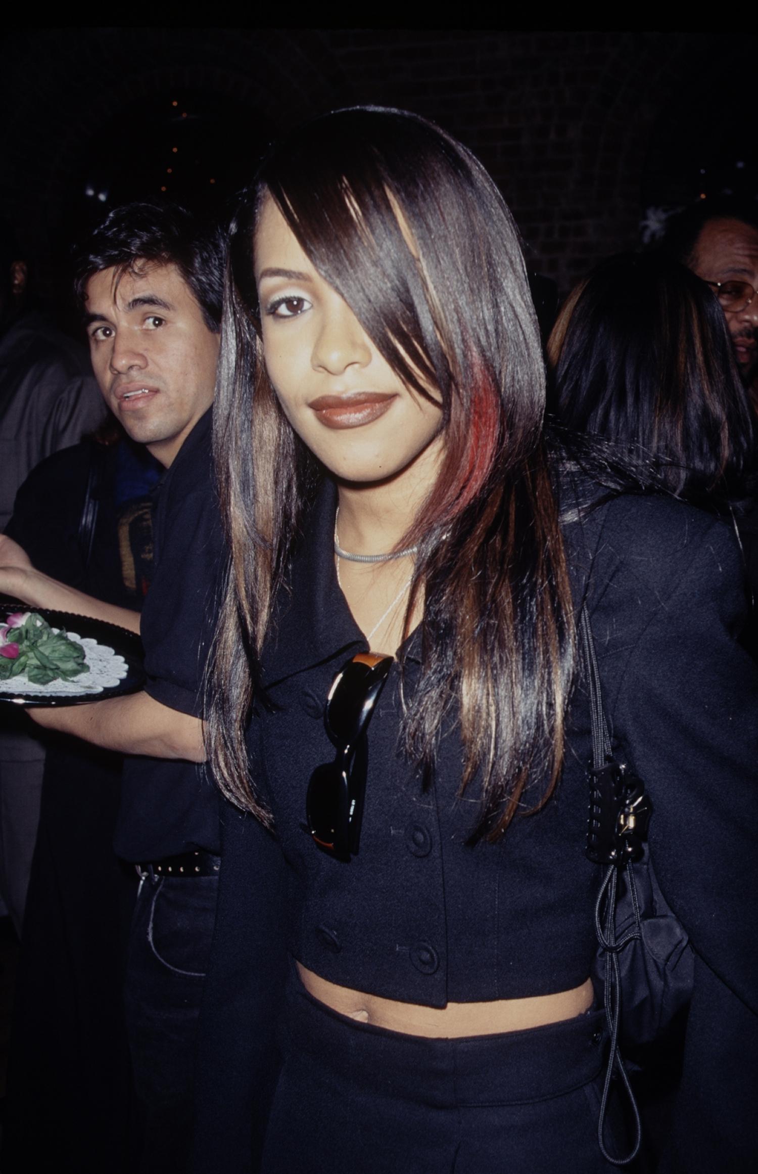 Aaliyah, circa 1995