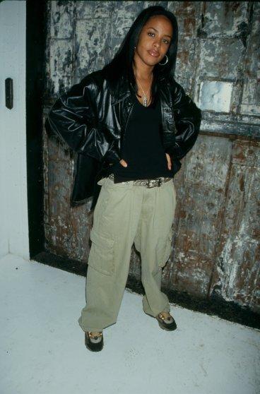 Aaliyah around 1995