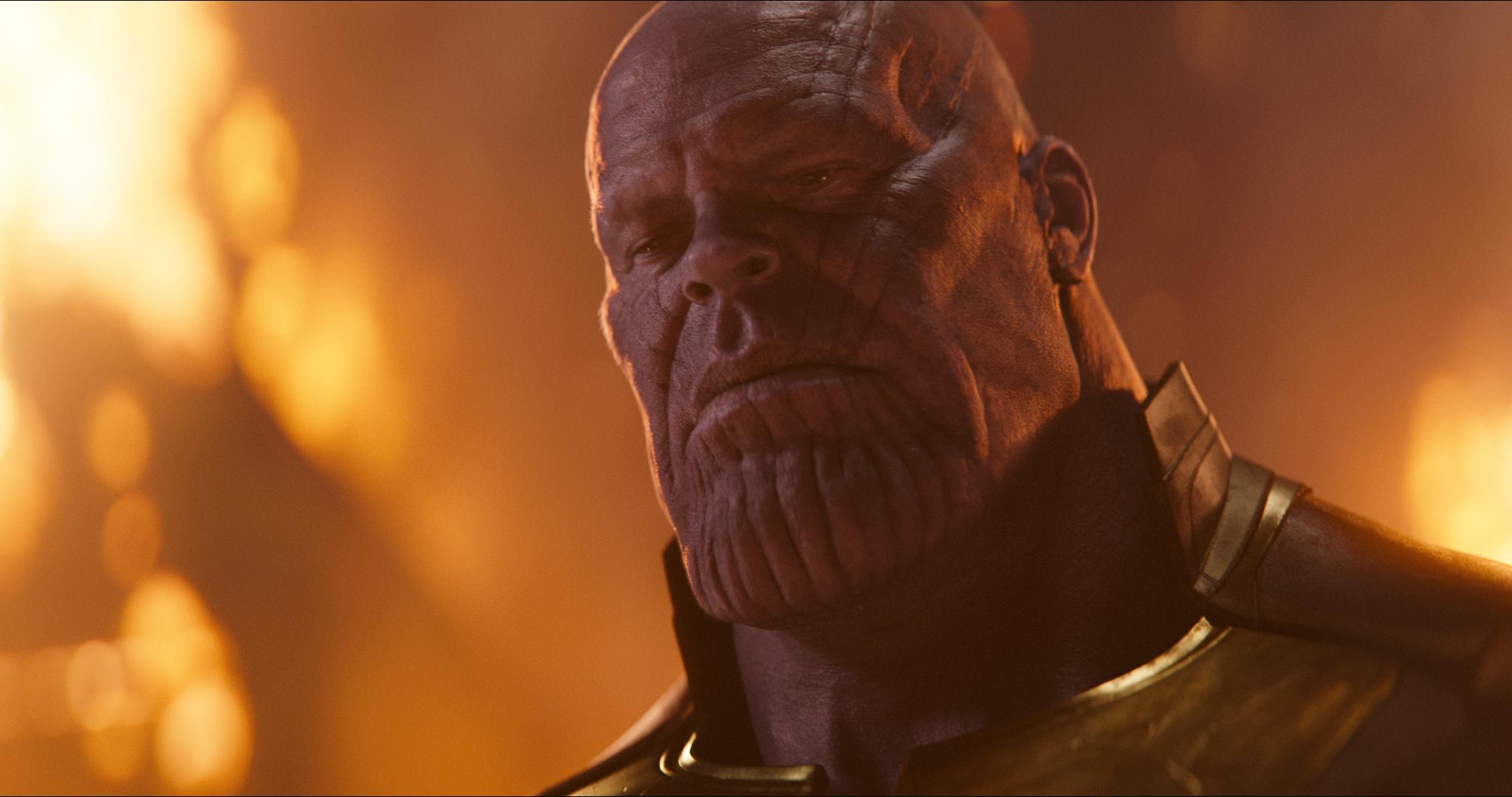 Thanos (Josh Brolin) in Avengers: Infinity War