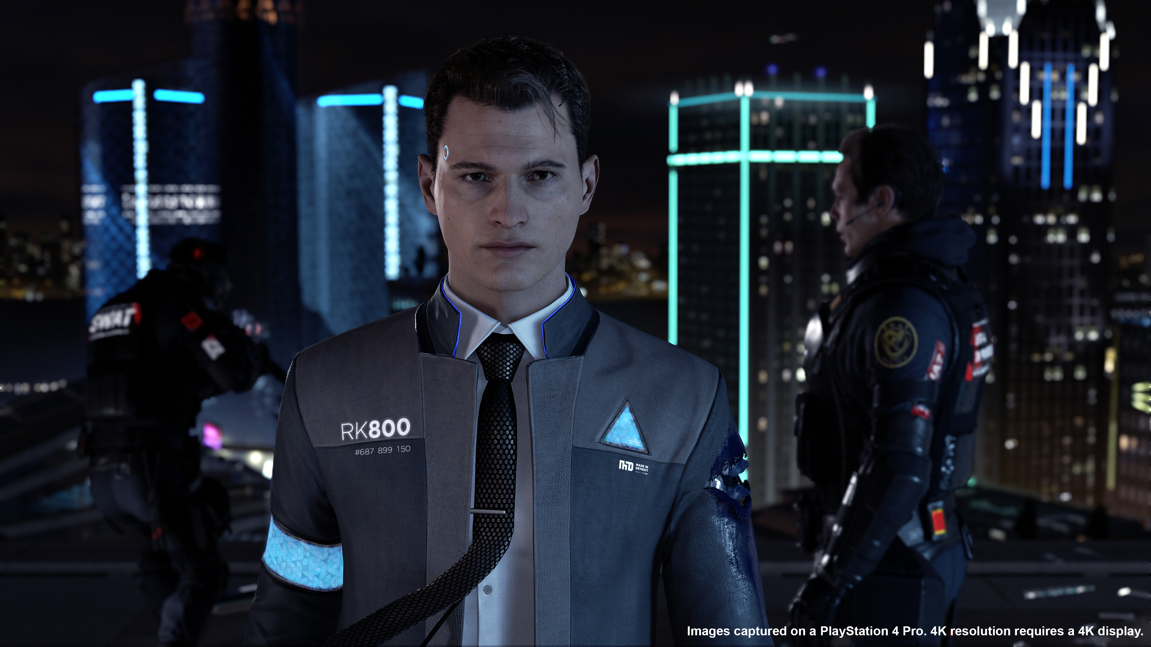 Connor, one of the main characters in Detroit: Become Human