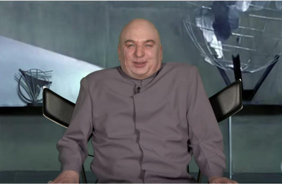 Dr Evil (Mike Myers) goes on The Tonight Show With Jimmy Fallon to discuss Trump Administration