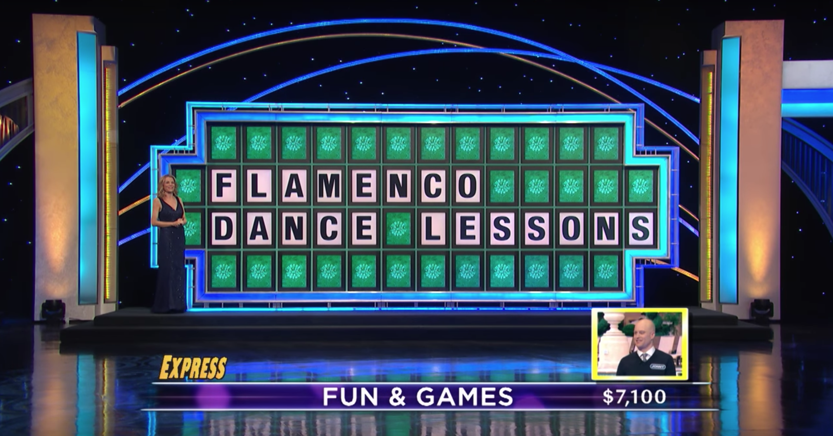 A contestant on 'Wheel of Fortune' mispronounced 'Flamenco Dance Lessons,' missing out on the prize