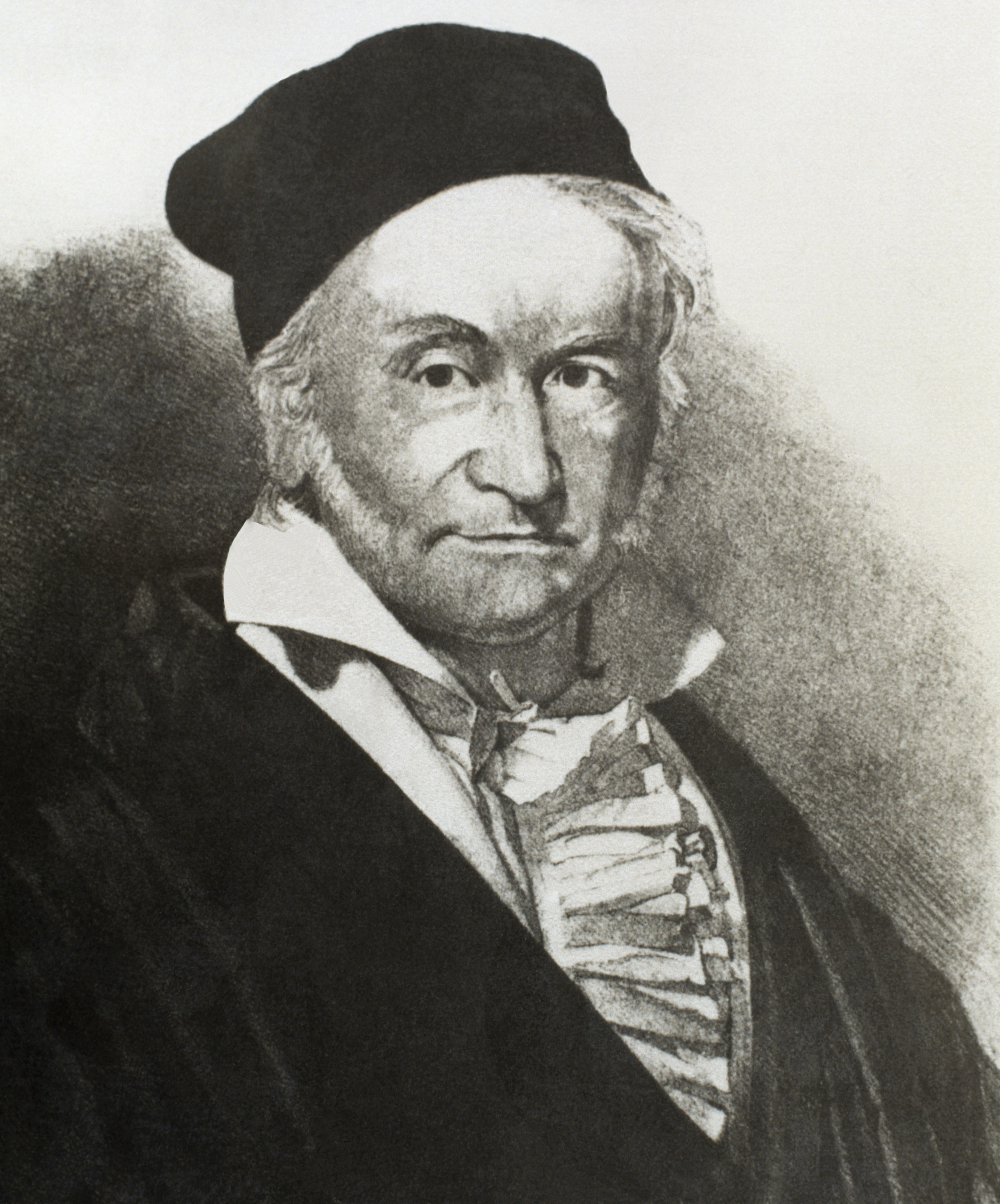 Carl Friedrich Gauss (1777-1855). German mathematician. Engraving. 19th century. Gauss' 241st birthday was celebrated with a Google Doodle.