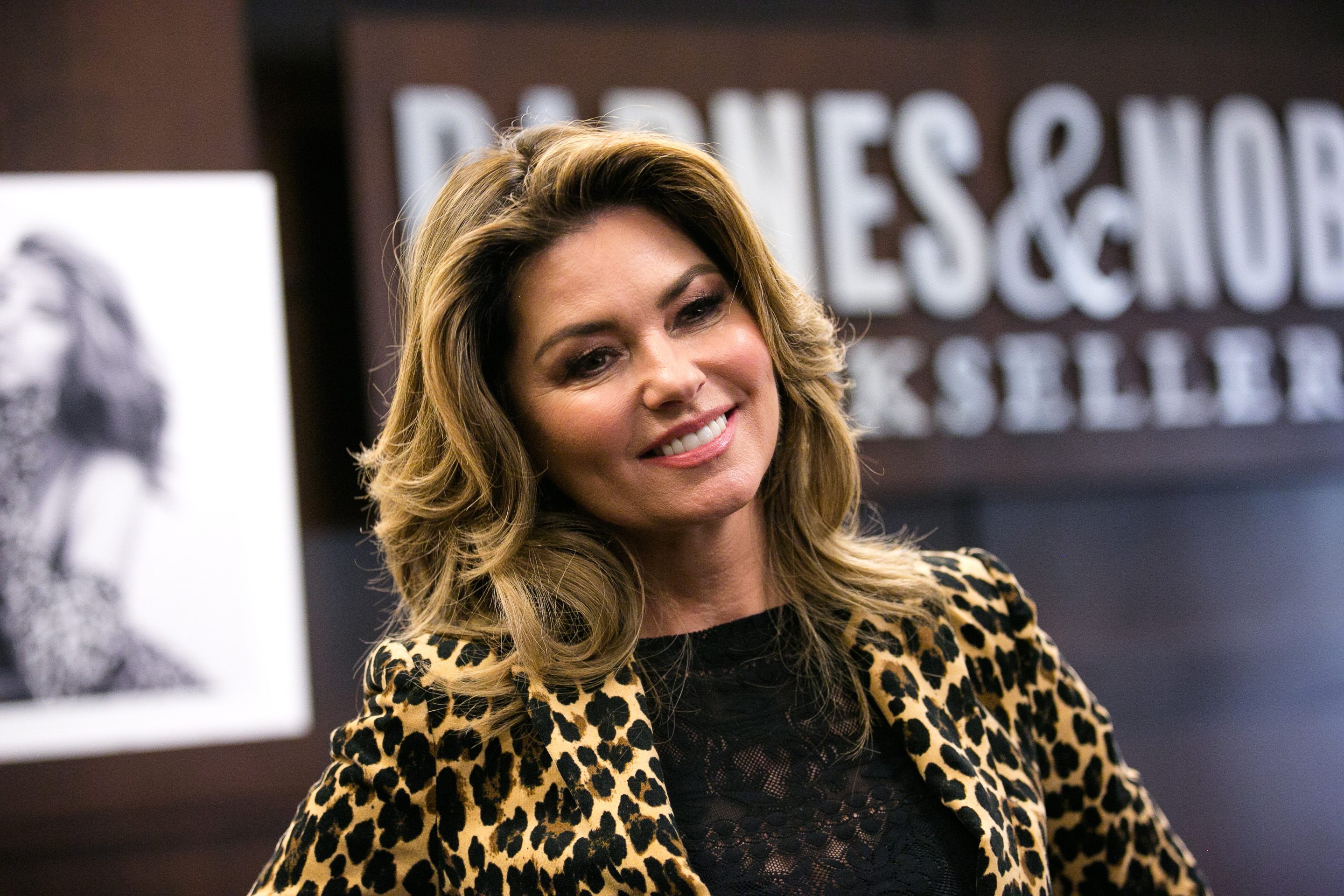 Shania Twain attends her album signing for  Now  in Los Angeles, Calif. on Sept. 29, 2017.