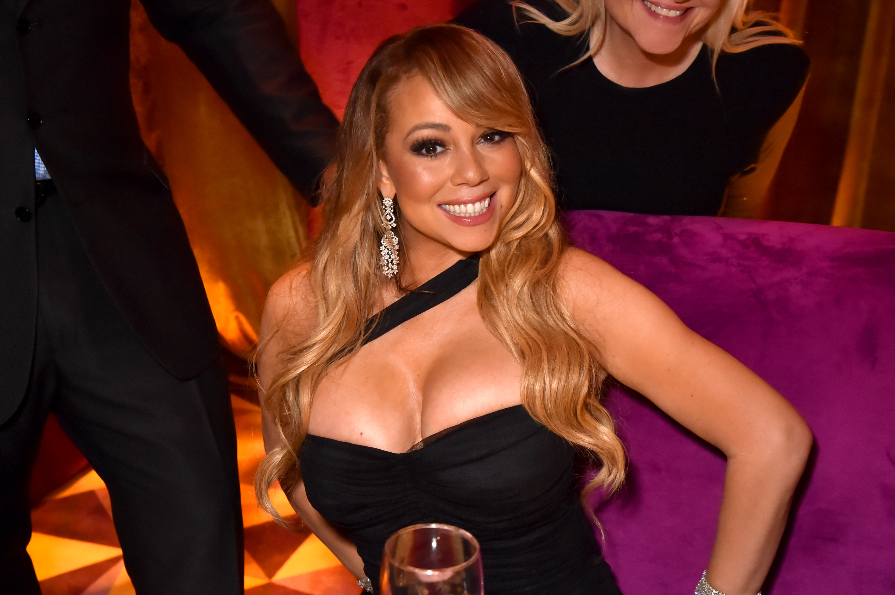 Mariah Carey at HBO's Official 2017 Golden Globe Awards After Party