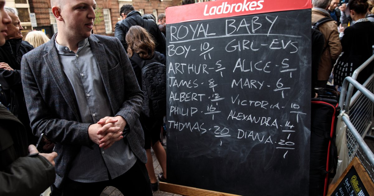Bets on the royal baby name soccer betting prediction software