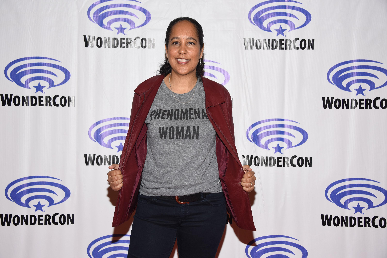 Gina Prince-Bythewood attends Wondercon 2018