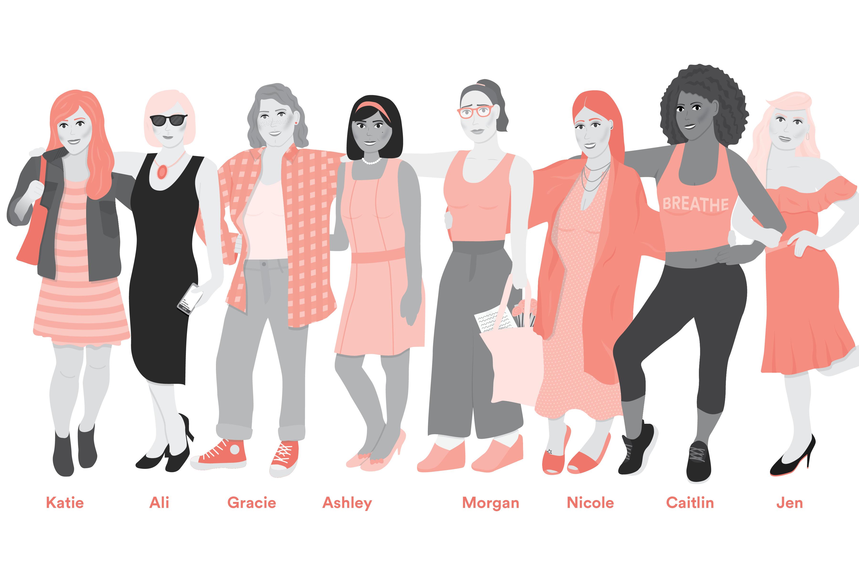 'Hey Ladies!' illustration by Carolyn Bahar.