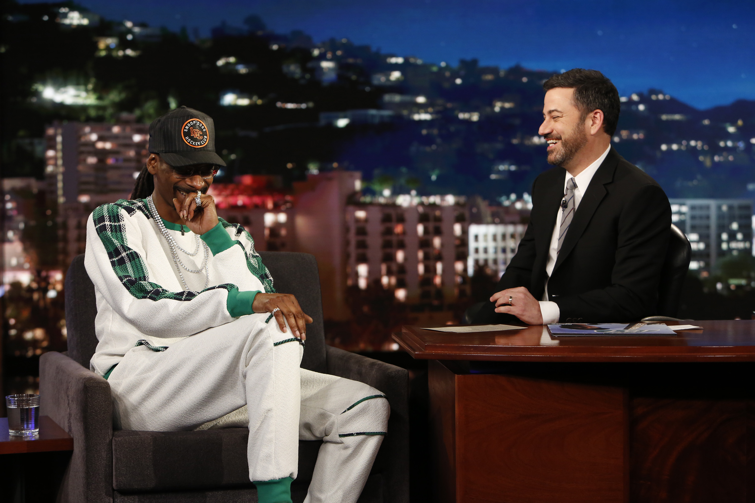 Jimmy Kimmel Live  brought on musical guest Snoop Dogg.