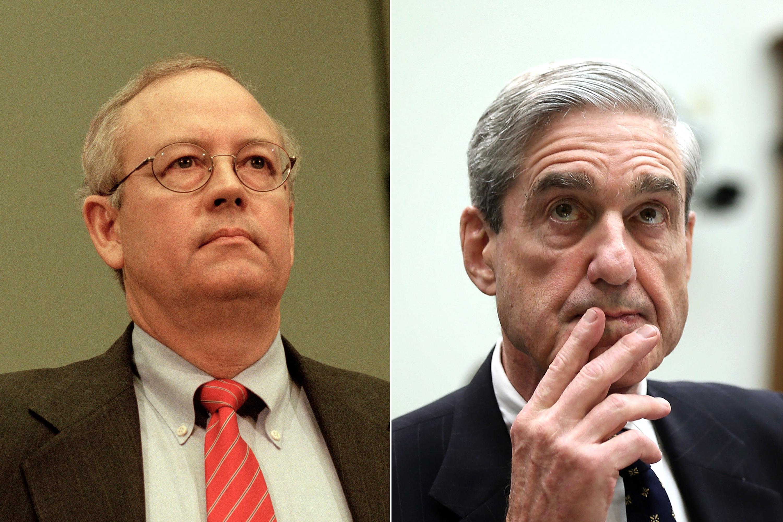 Ken Starr and Robert Mueller