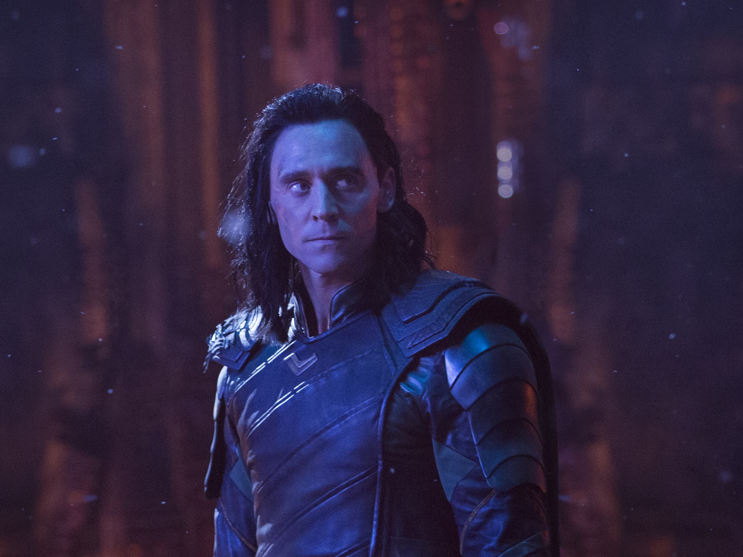Loki (Tom Hiddleston) in Marvel Studios' AVENGERS: INFINITY WAR