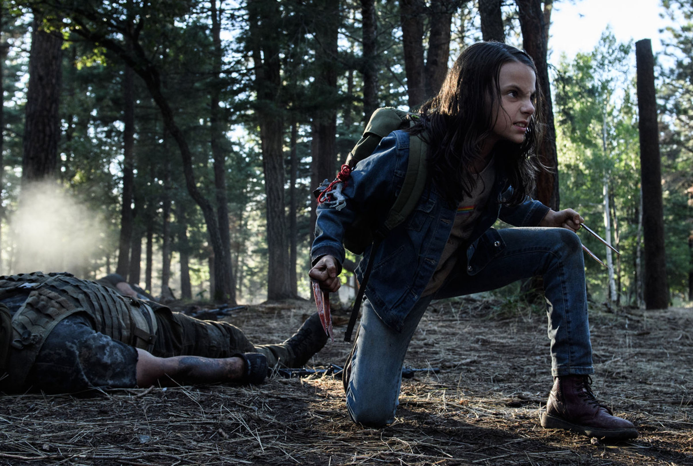 Dafne Keen in 'Logan'