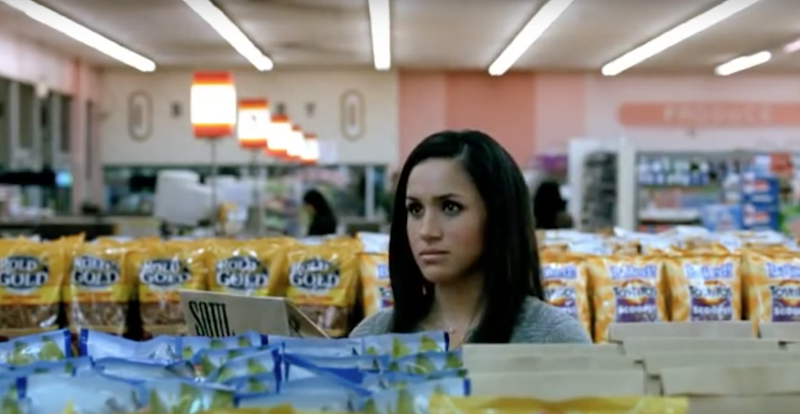 Watch Meghan Markle star in a Tostitos commercial from 2009