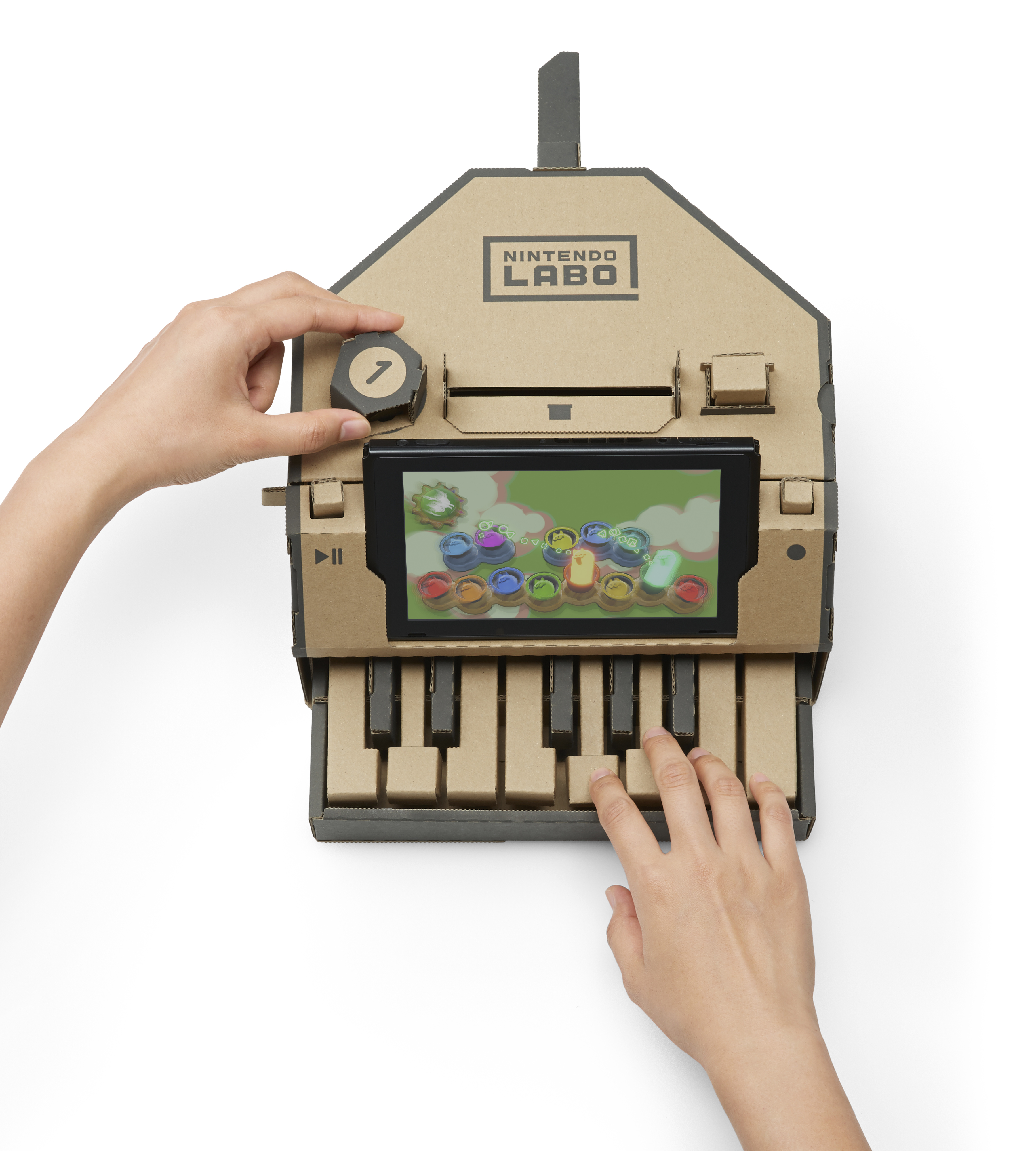 Nintendo's Labo variety kit for the Switch