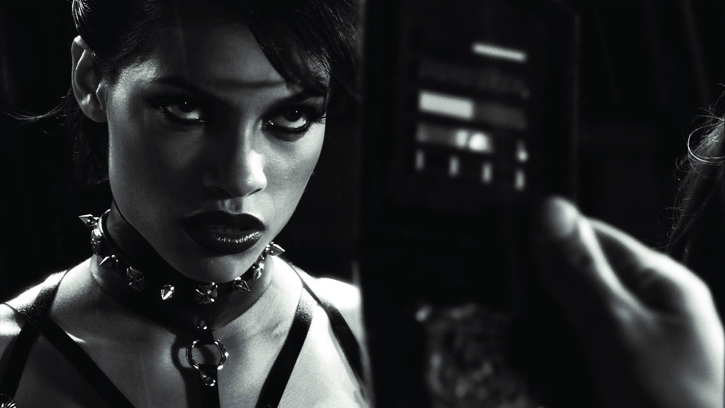 Rosario Dawson as Gail in  Sin City